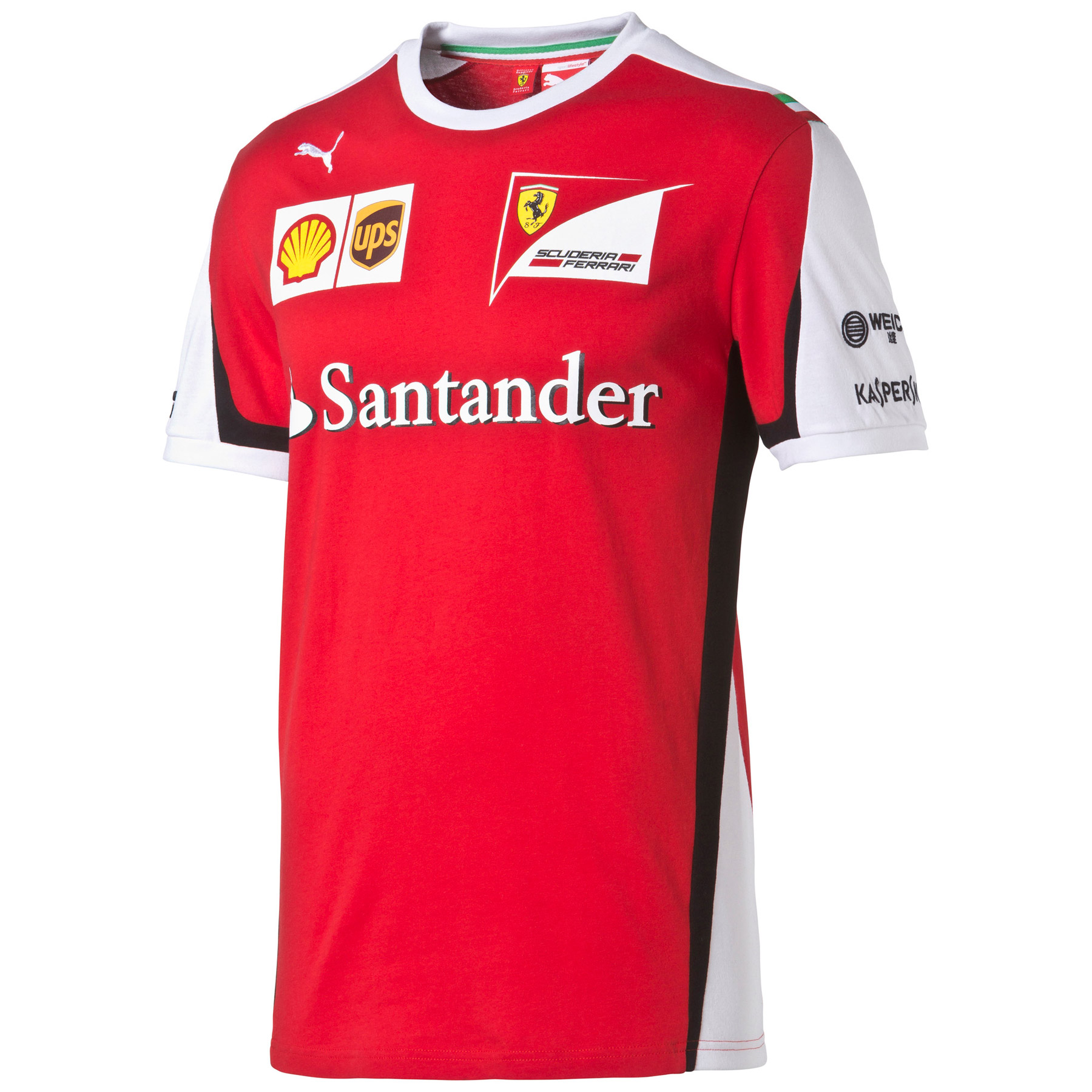 Scuderia Ferrari 2015 Team T-Shirt Red