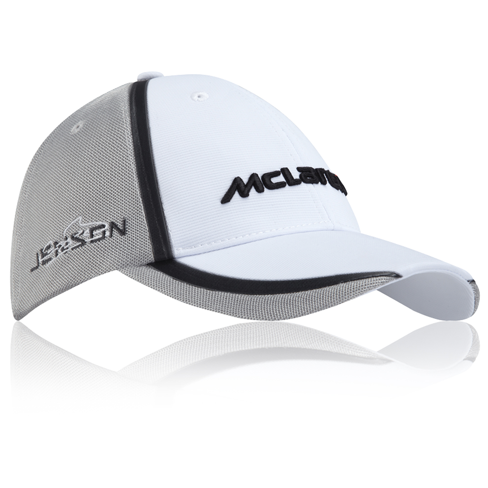 McLaren Mercedes 2014 Jenson Button Drivers Team Cap - Kids