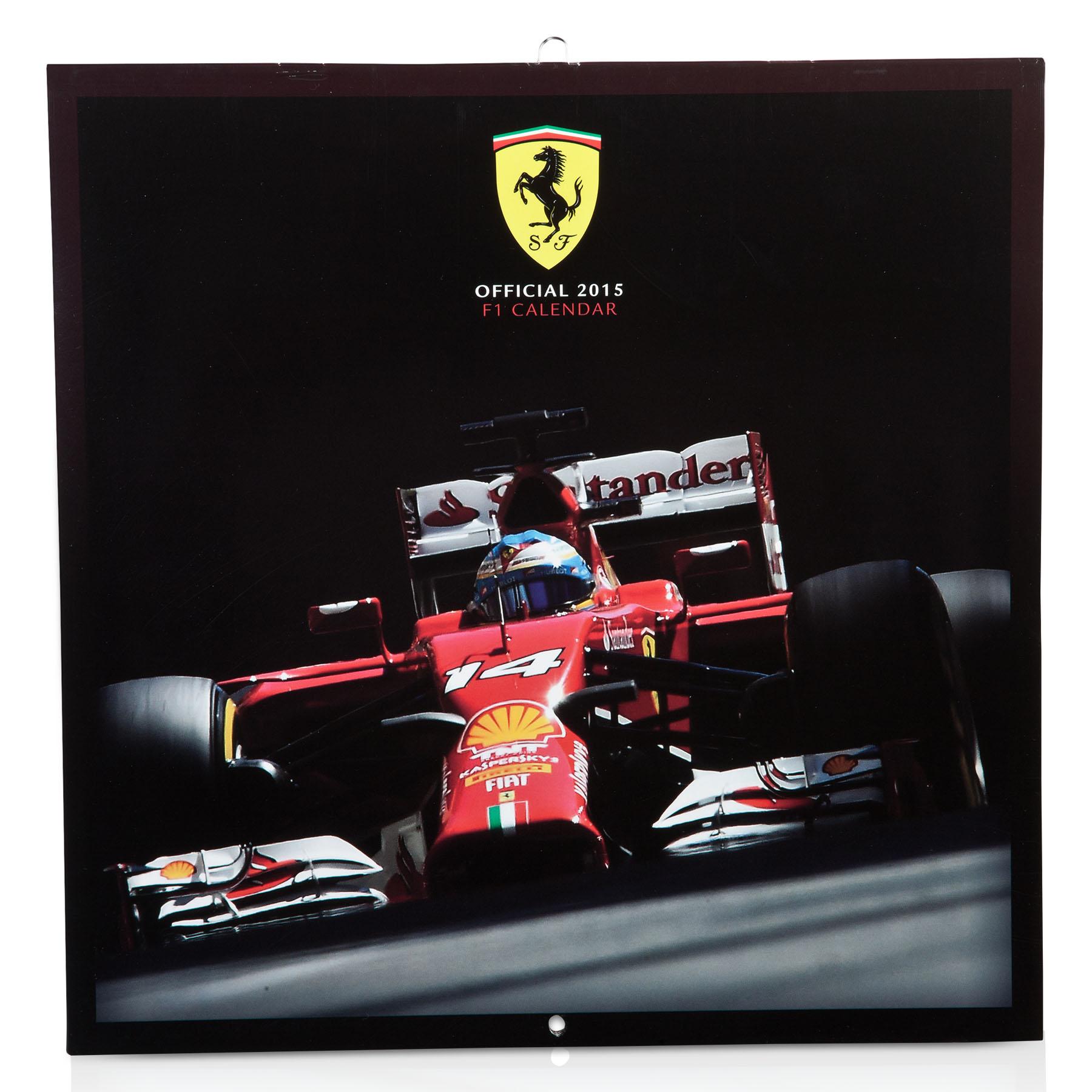 Scuderia Ferrari 2015 Official Calendar