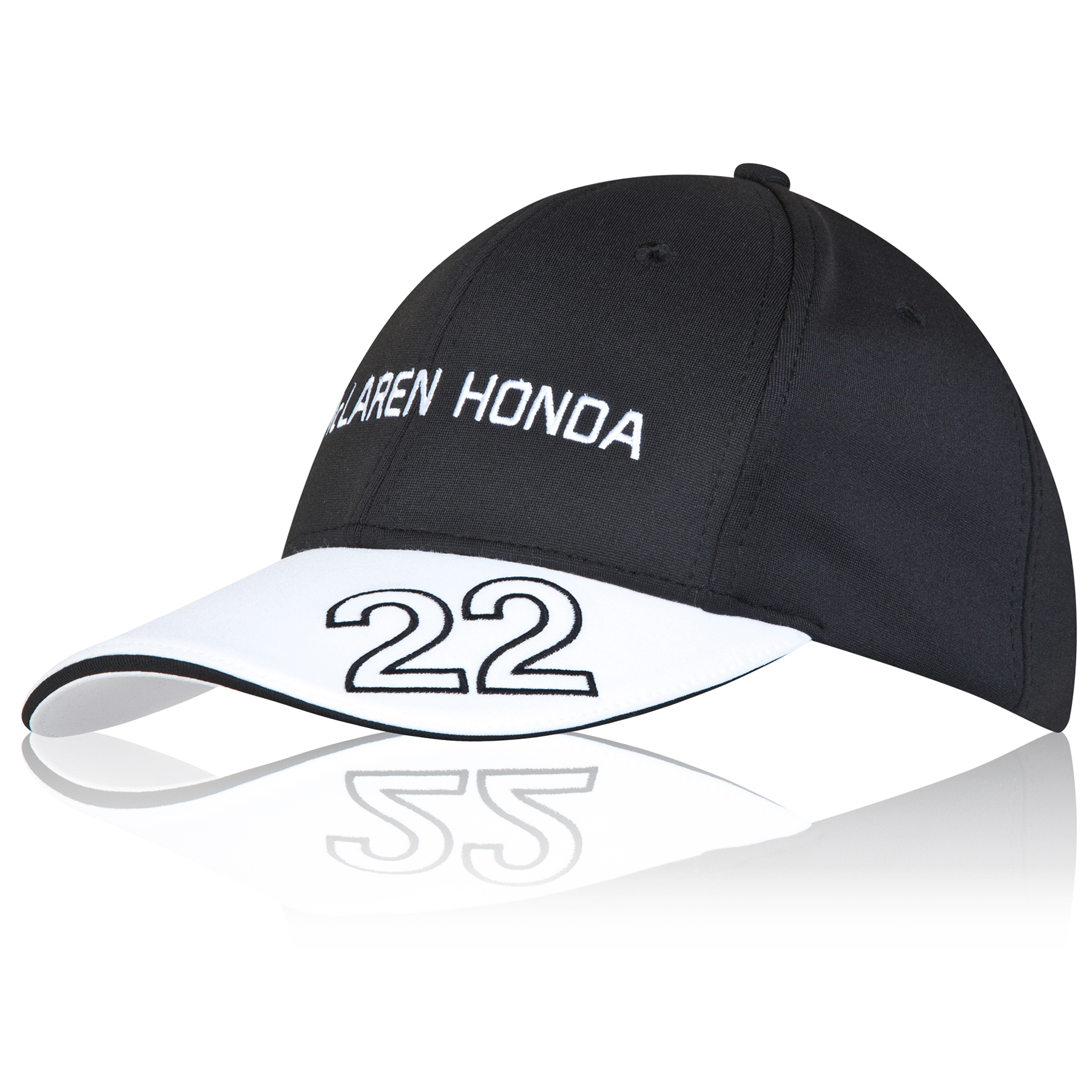 McLaren Honda Official Jenson Button Cap Adult Black