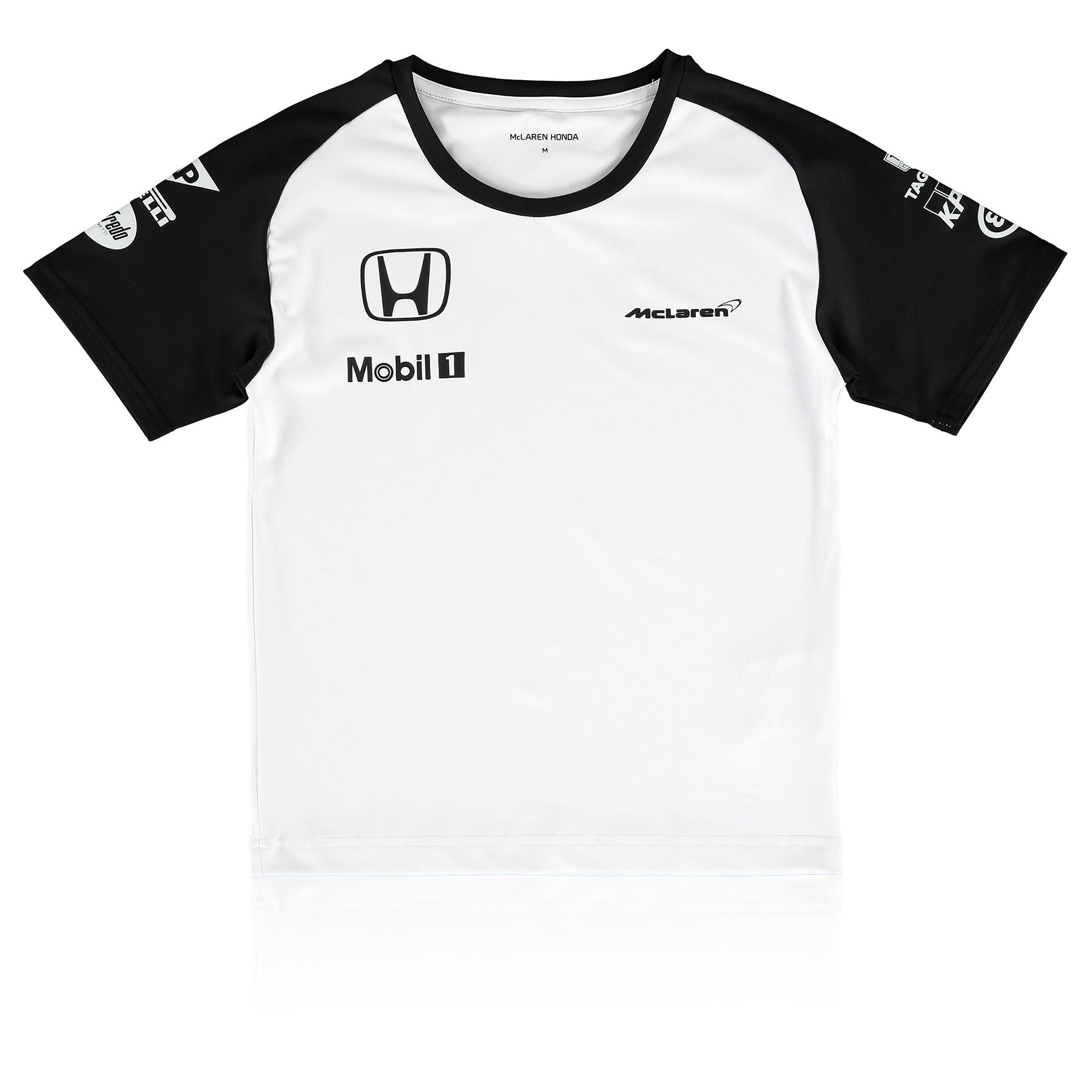 Formula 1 Men's Children's McLaren Honda Team T-Shirt Kids White