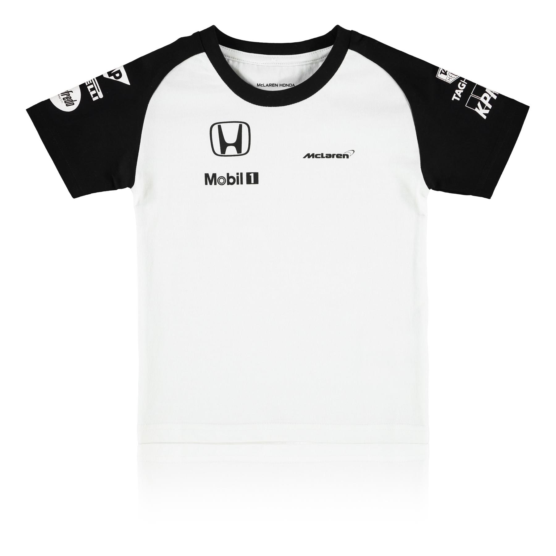 Formula 1 Men's Children's McLaren Honda Team T-shirt Baby White