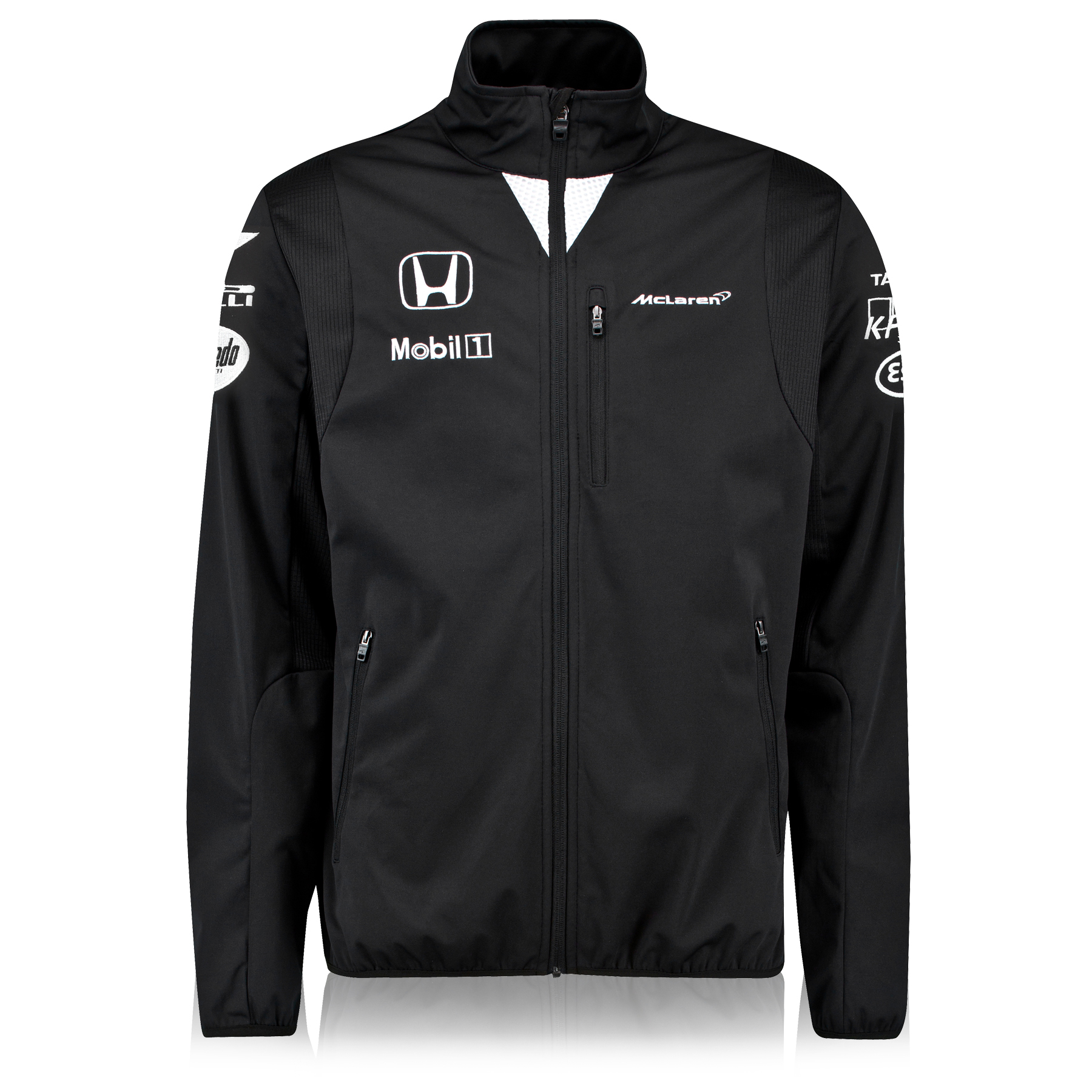 McLaren Honda Team Softshell Jacket Male Black
