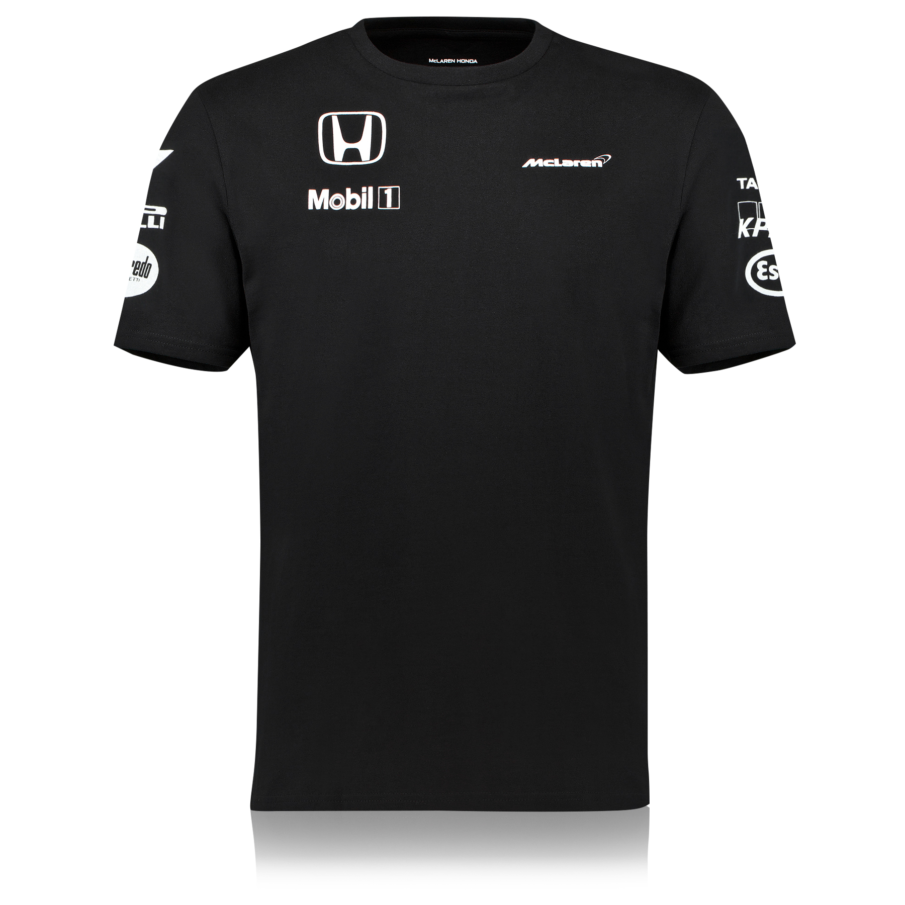 McLaren Honda Official Team Set Up T-Shirt Black