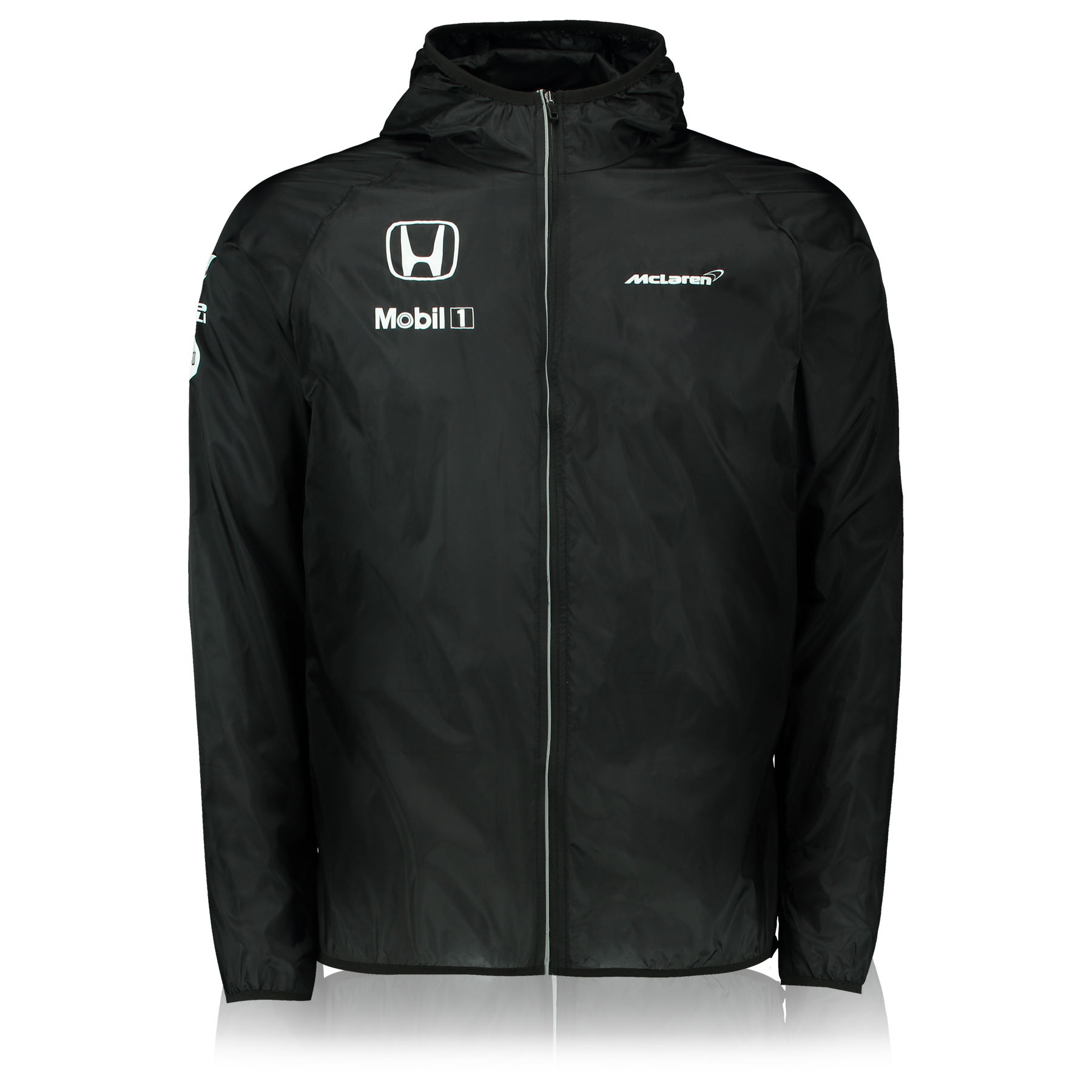 McLaren Honda Team Ultra-Light Water Repellent Jacket Black