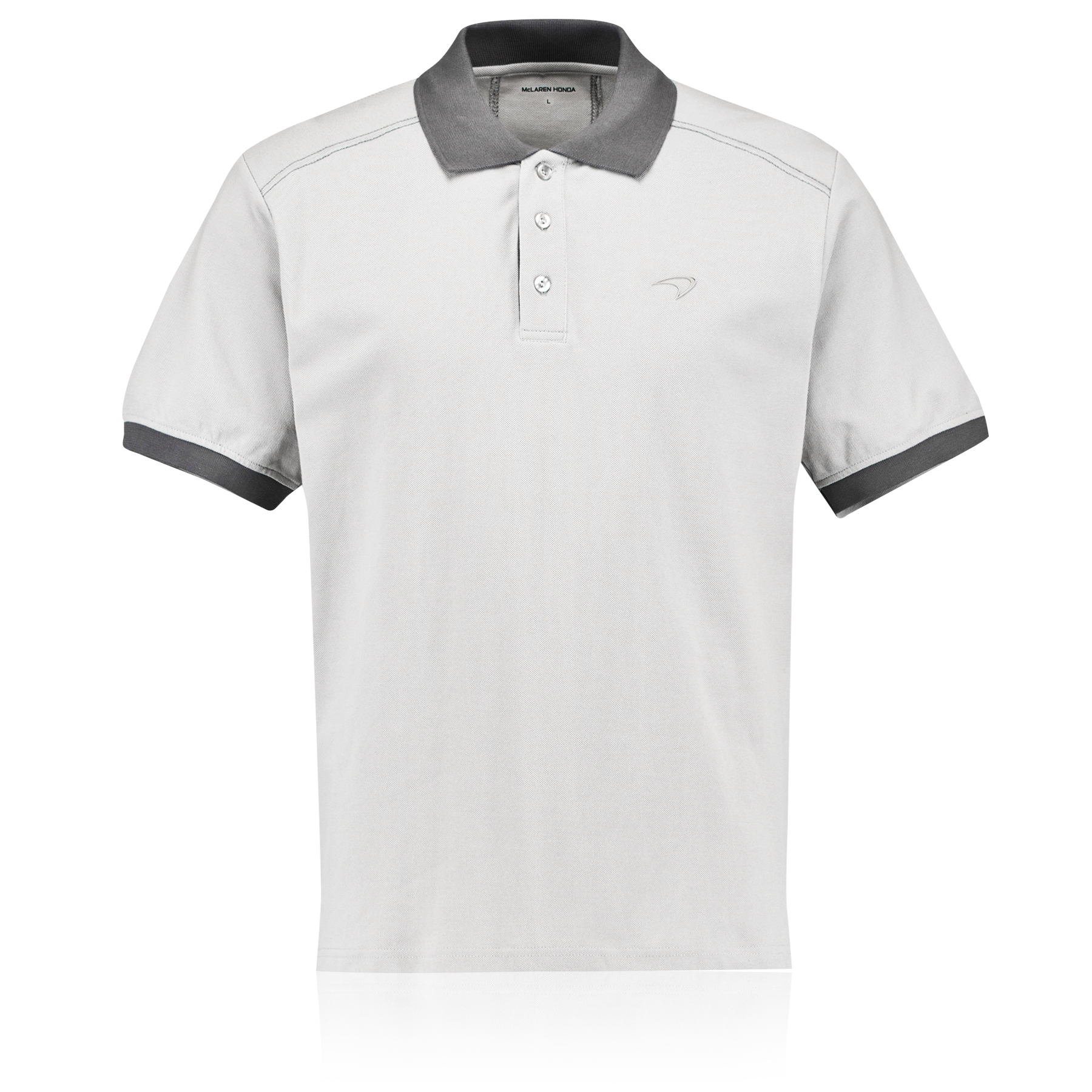 McLaren Honda Signature Polo Grey Grey