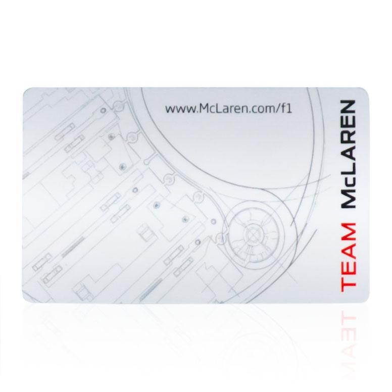 Novelty Gifts Formula 1 McLaren Adult Membership Gift Card