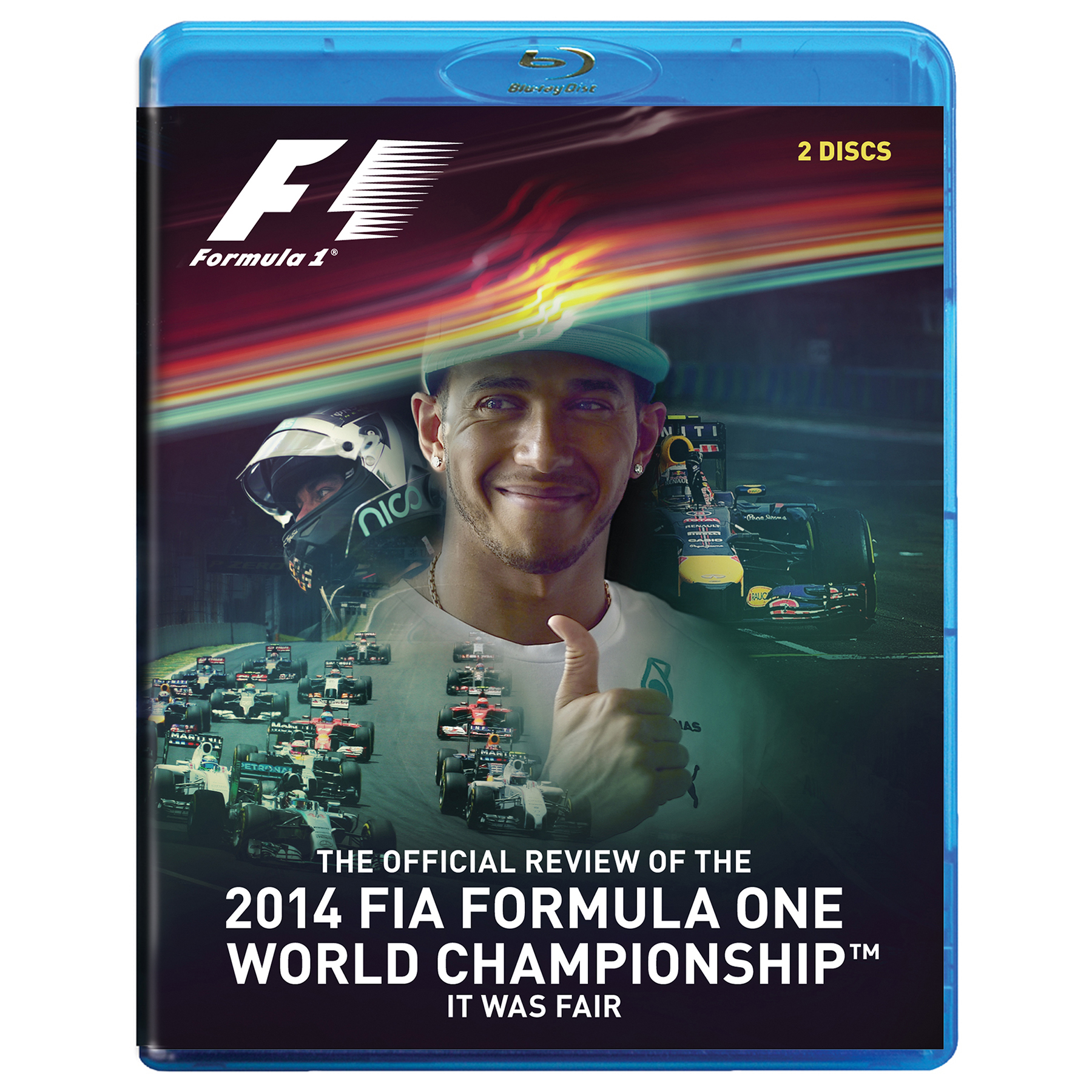 Formula One Official 2014 Season Review Blu-Ray