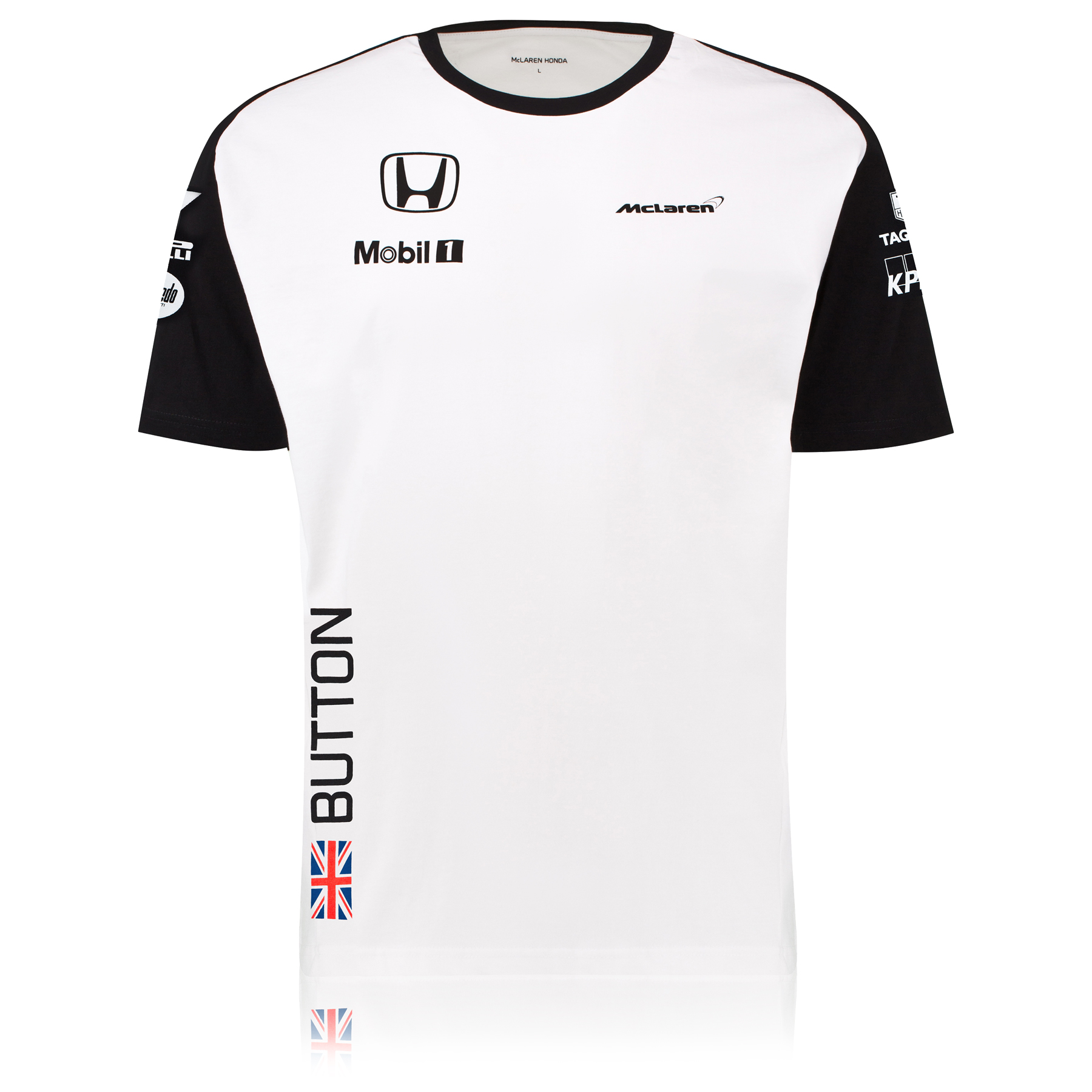 McLaren Honda Jenson Button Team T-Shirt Male White