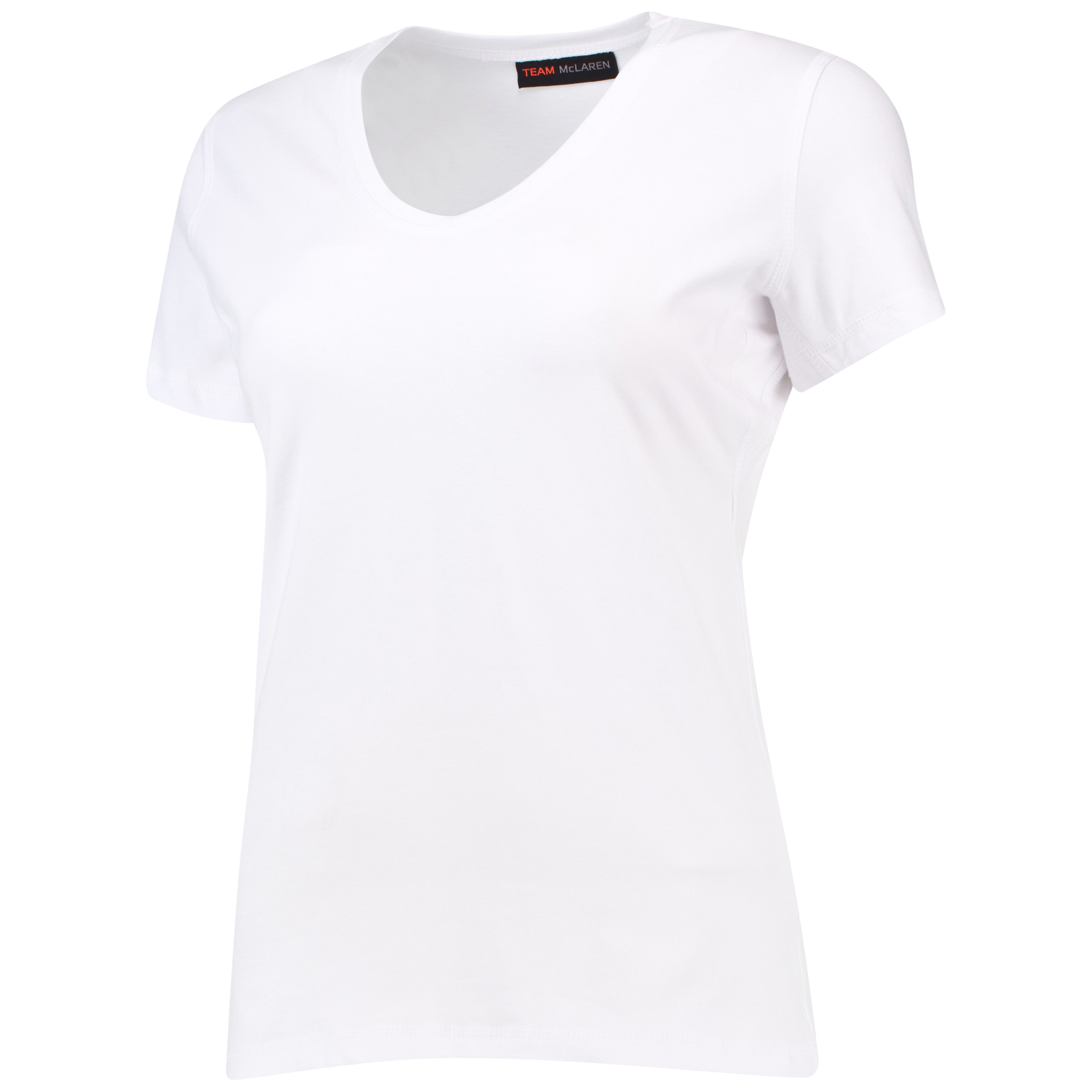 McLaren Quick Response T-Shirt - BLANK NOT FOR SALE - White Womens