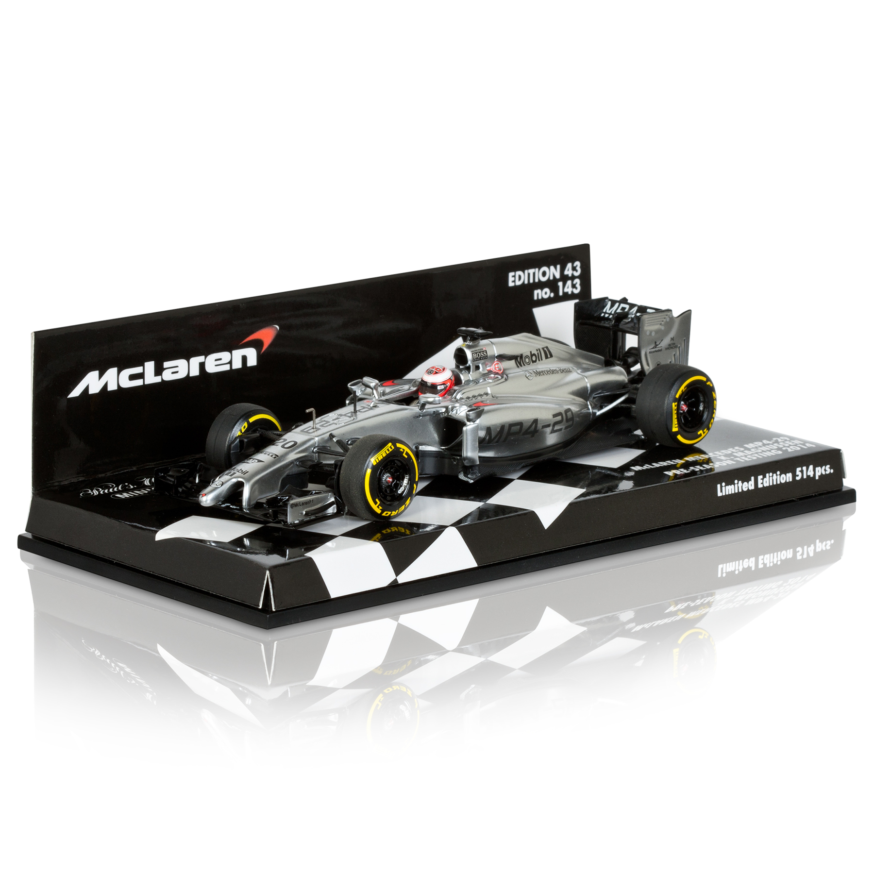 McLaren Mercedes MP4-29 Kevin Magnussen 1:43 Scale Model