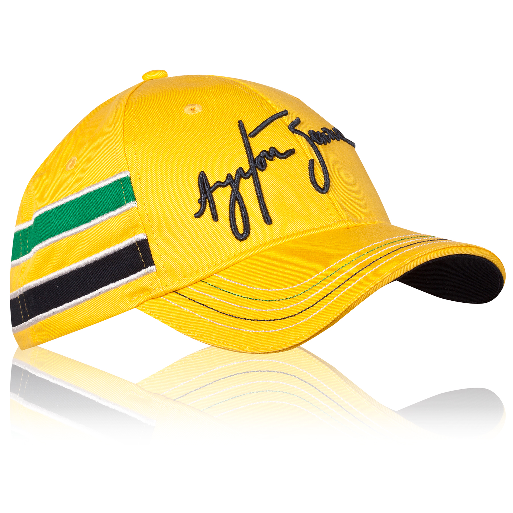 Image of Ayrton Senna Helmet Cap