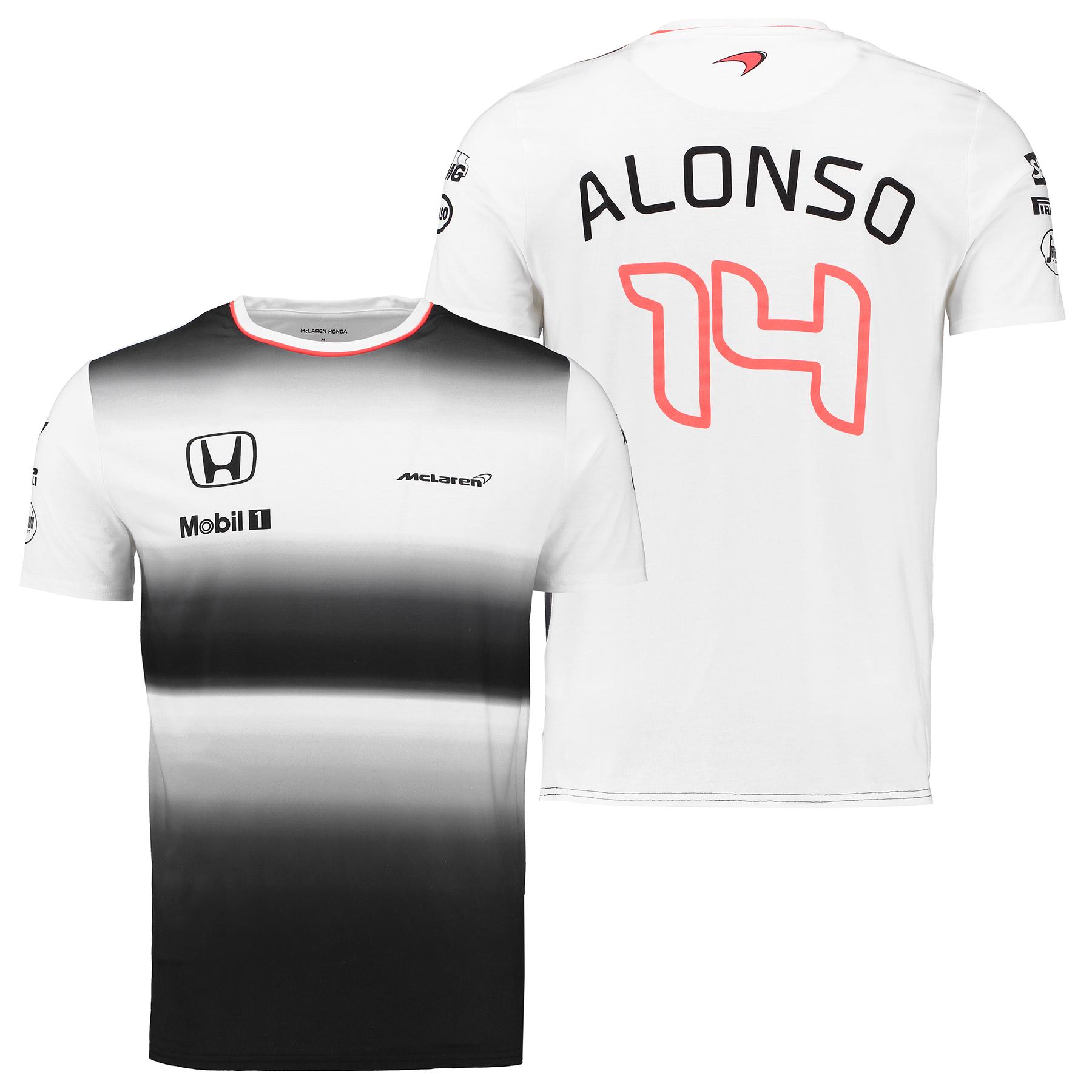 McLaren Honda Official 2016 Fernando Alonso T-Shirt