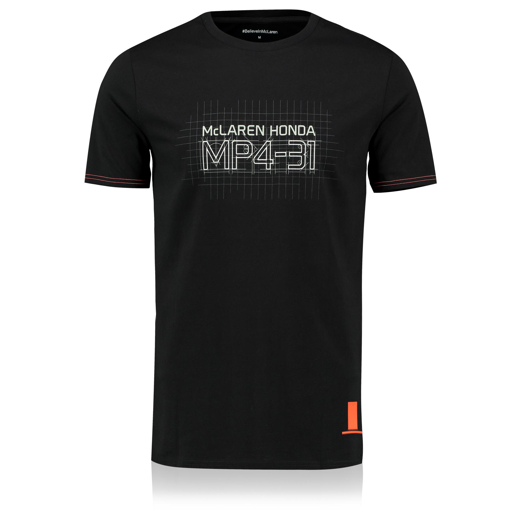 McLaren Honda Essentials MP4-31 T-Shirt - Black