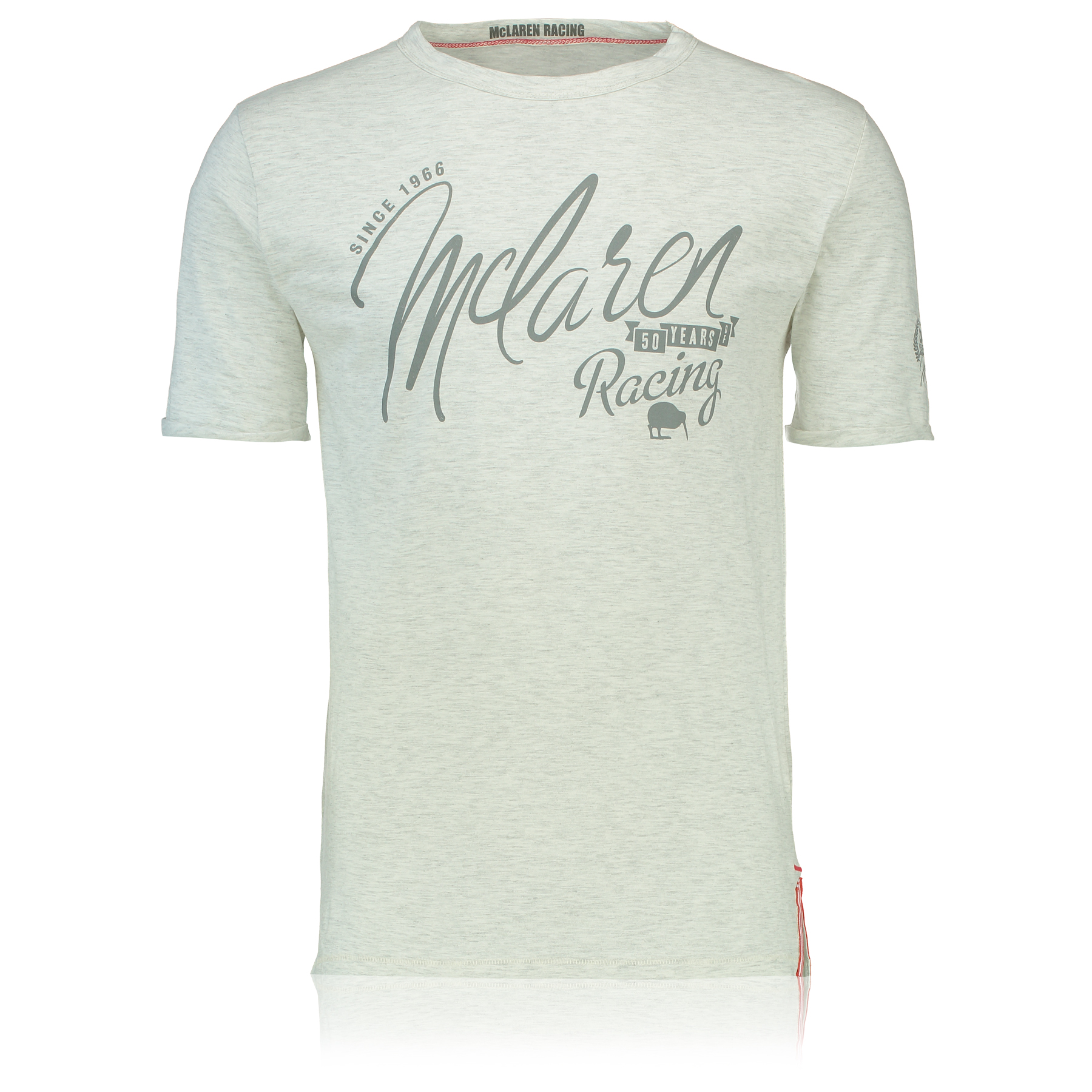 Image of McLaren 50 - FiftyYears of Racing T-Shirt