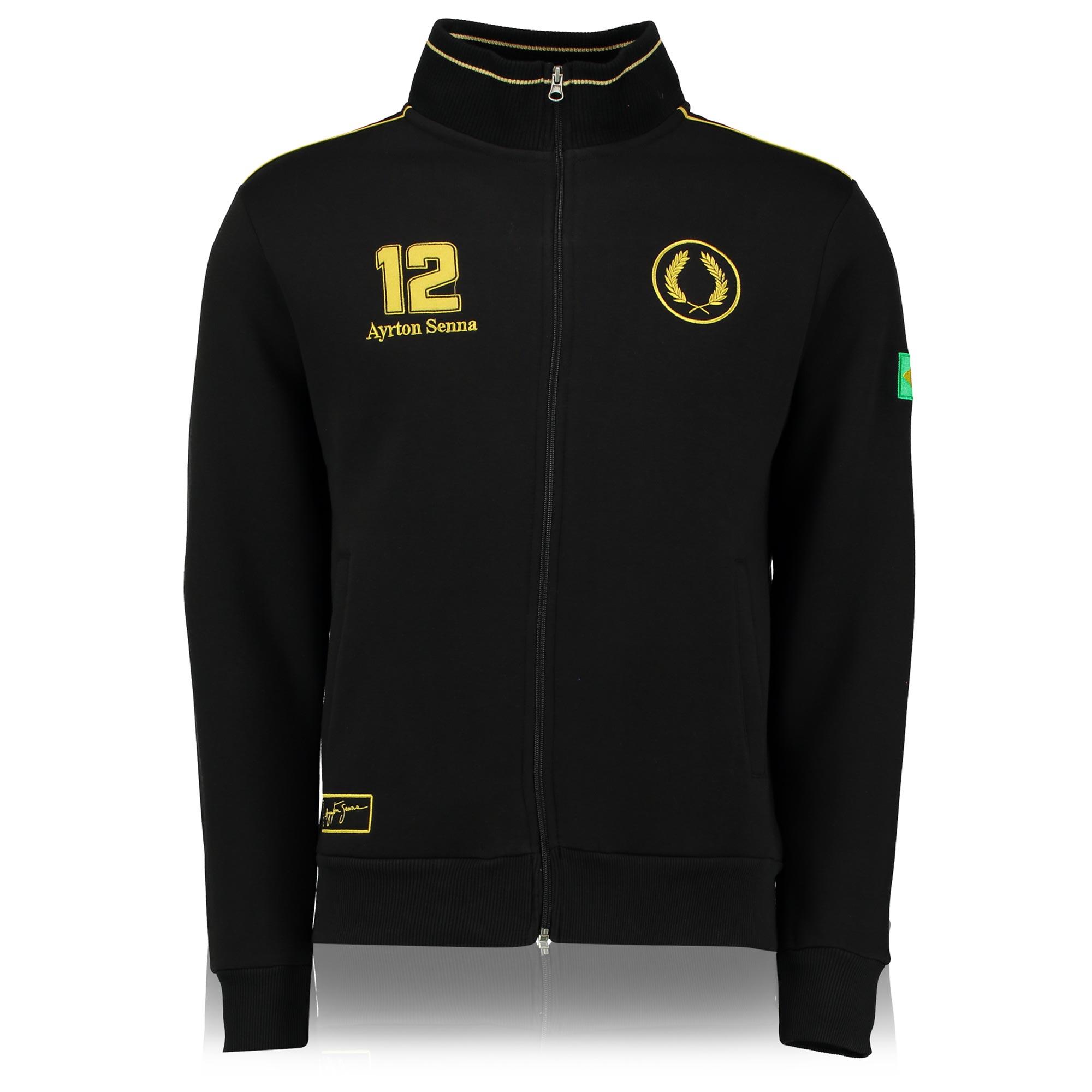 Image of Ayrton Senna Classic Team Lotus Sweat Jacket