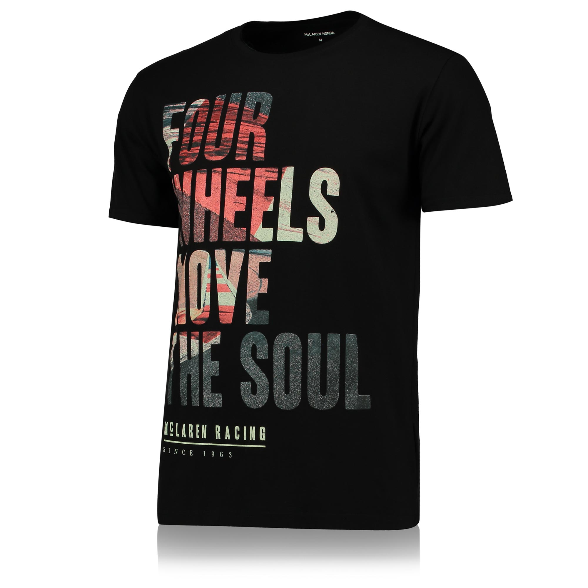 McLaren Four Wheels T-Shirt - Black