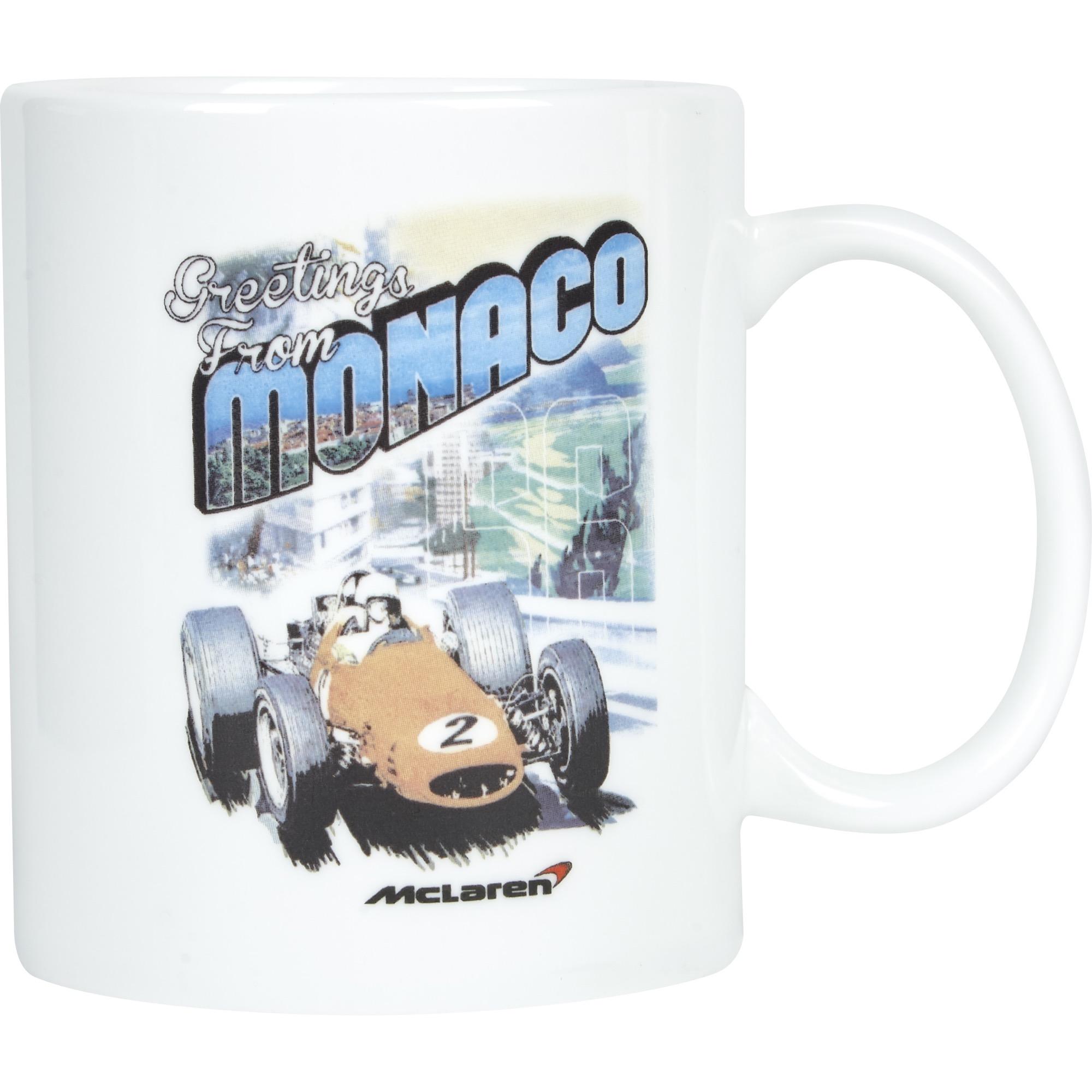 McLaren Greetings From Monaco Mug