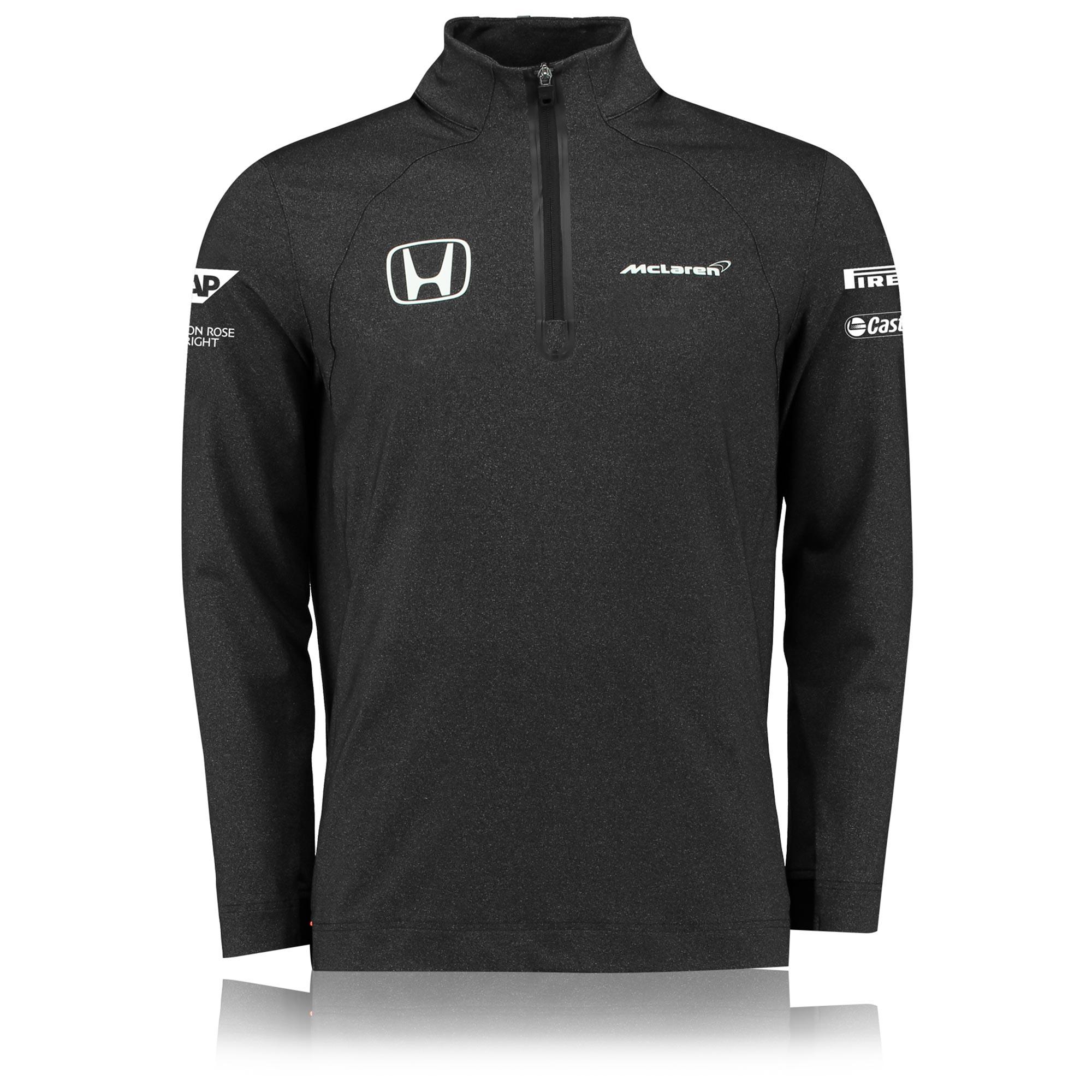McLaren Honda Official 2017 Team 1/4 Zip Sweatshirt