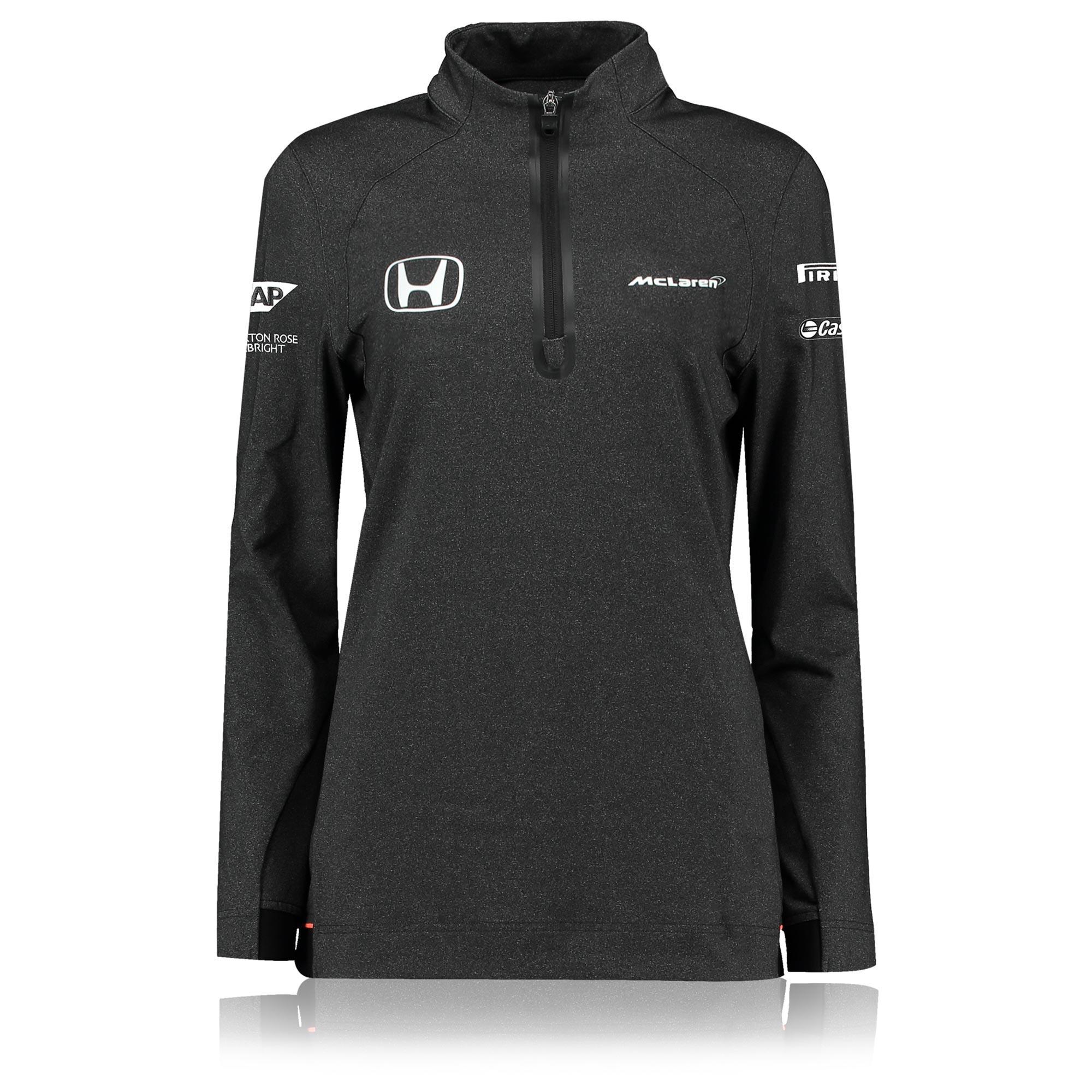 McLaren Honda Official 2017 Team 1/4 Zip Sweatshirt - Womens