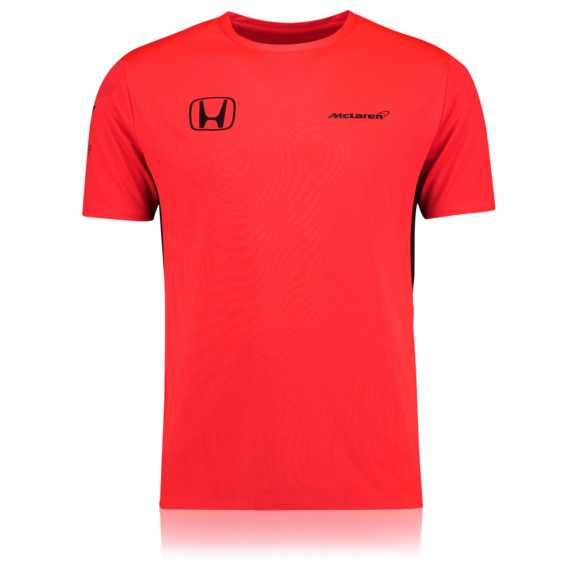 McLaren Honda Official 2017 Team Rocket Red T-Shirt