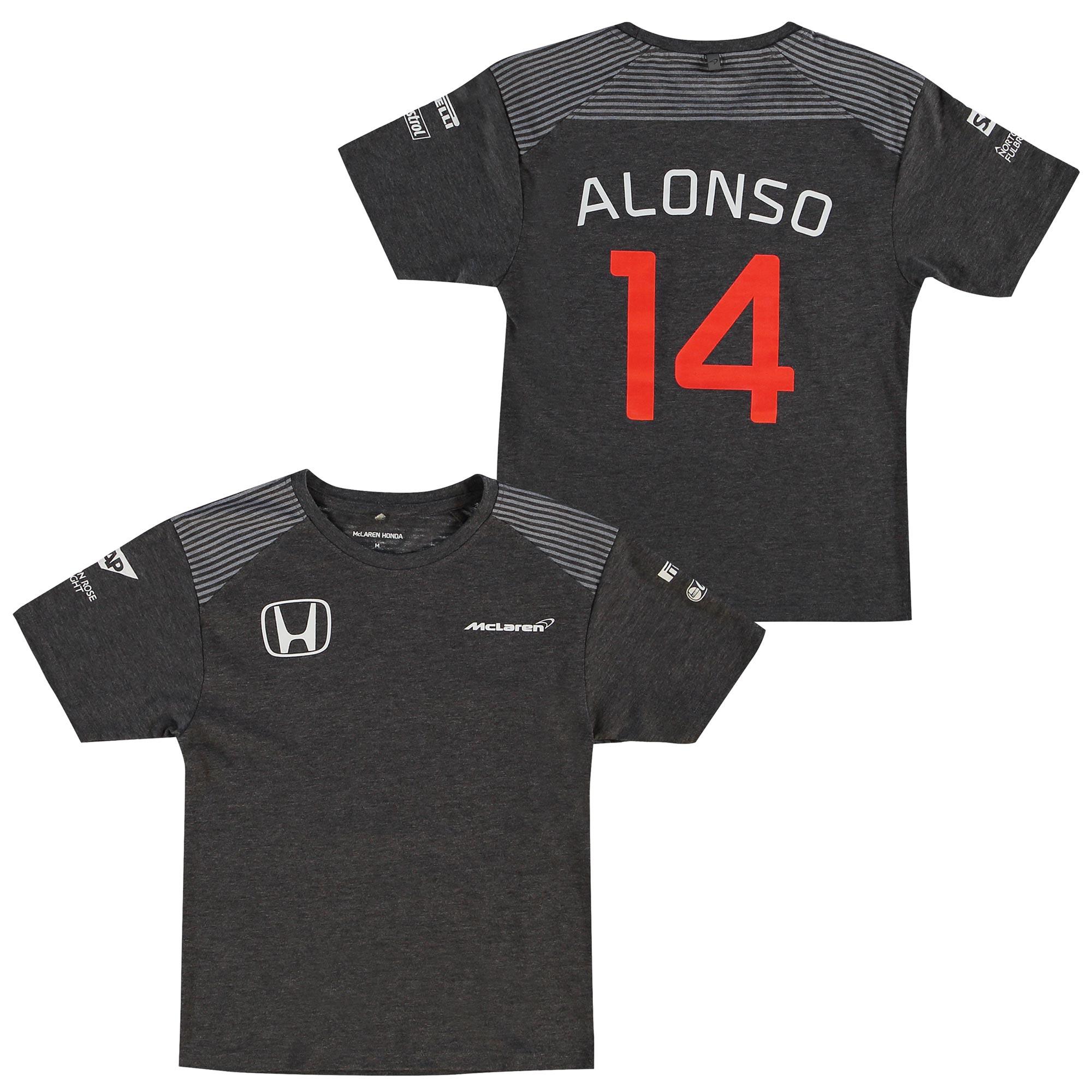 McLaren Honda Official 2017 Fernando Alonso T-Shirt - Kids