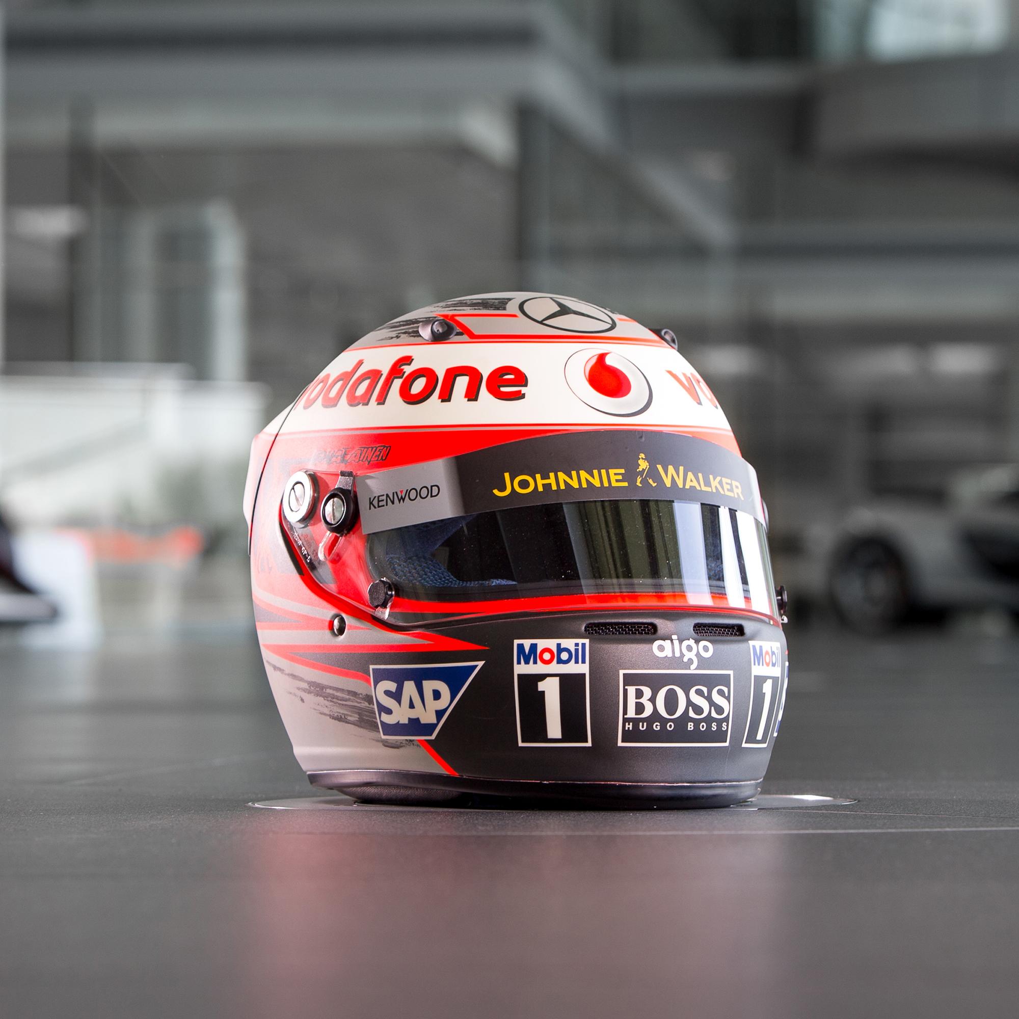 """Image of """"McLaren 2008 Heikki Kovalinen Full Scale Helmet"""""""