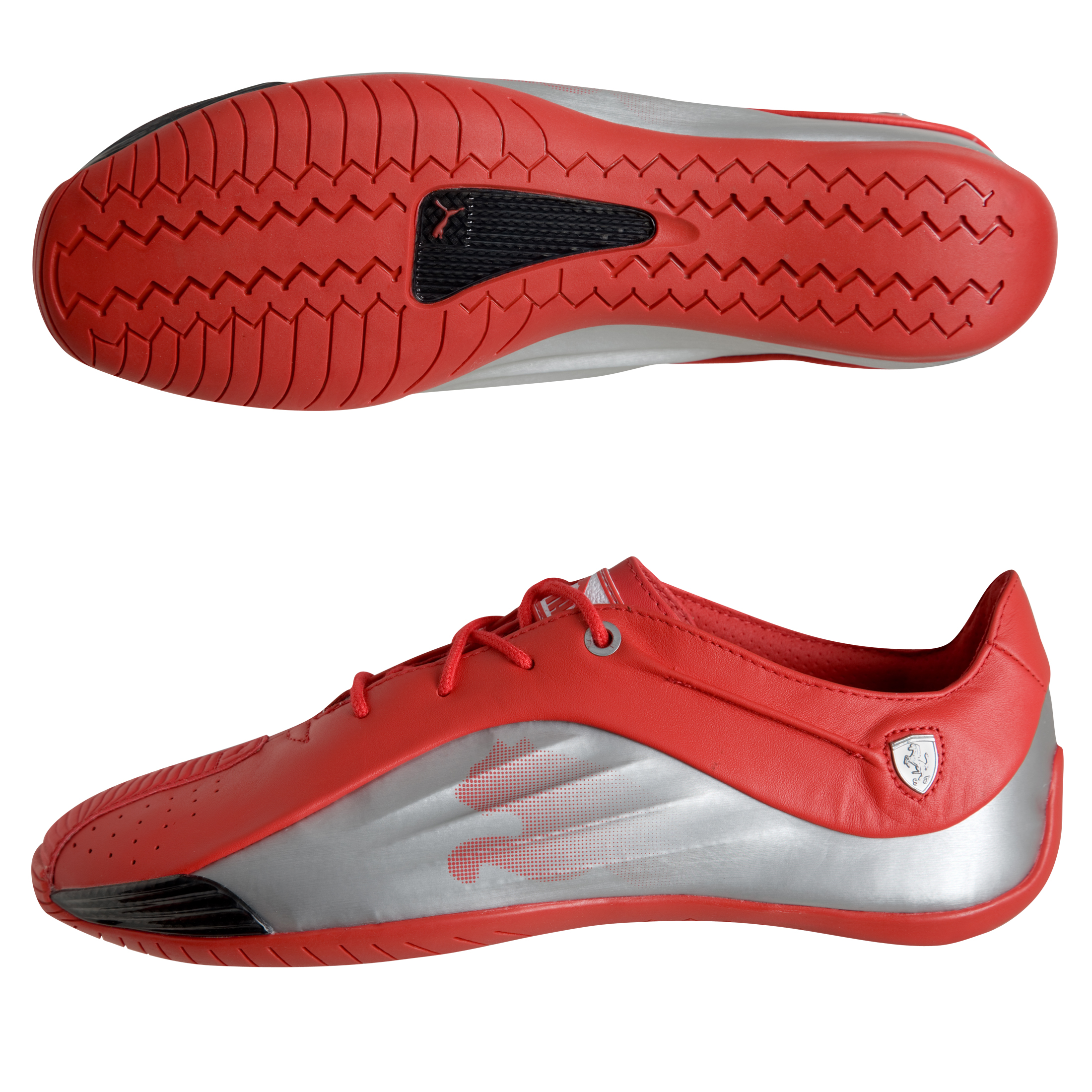 Scuderia Ferrari Puma Kraft Trainers - Rosso Corsa/Metallic Silver