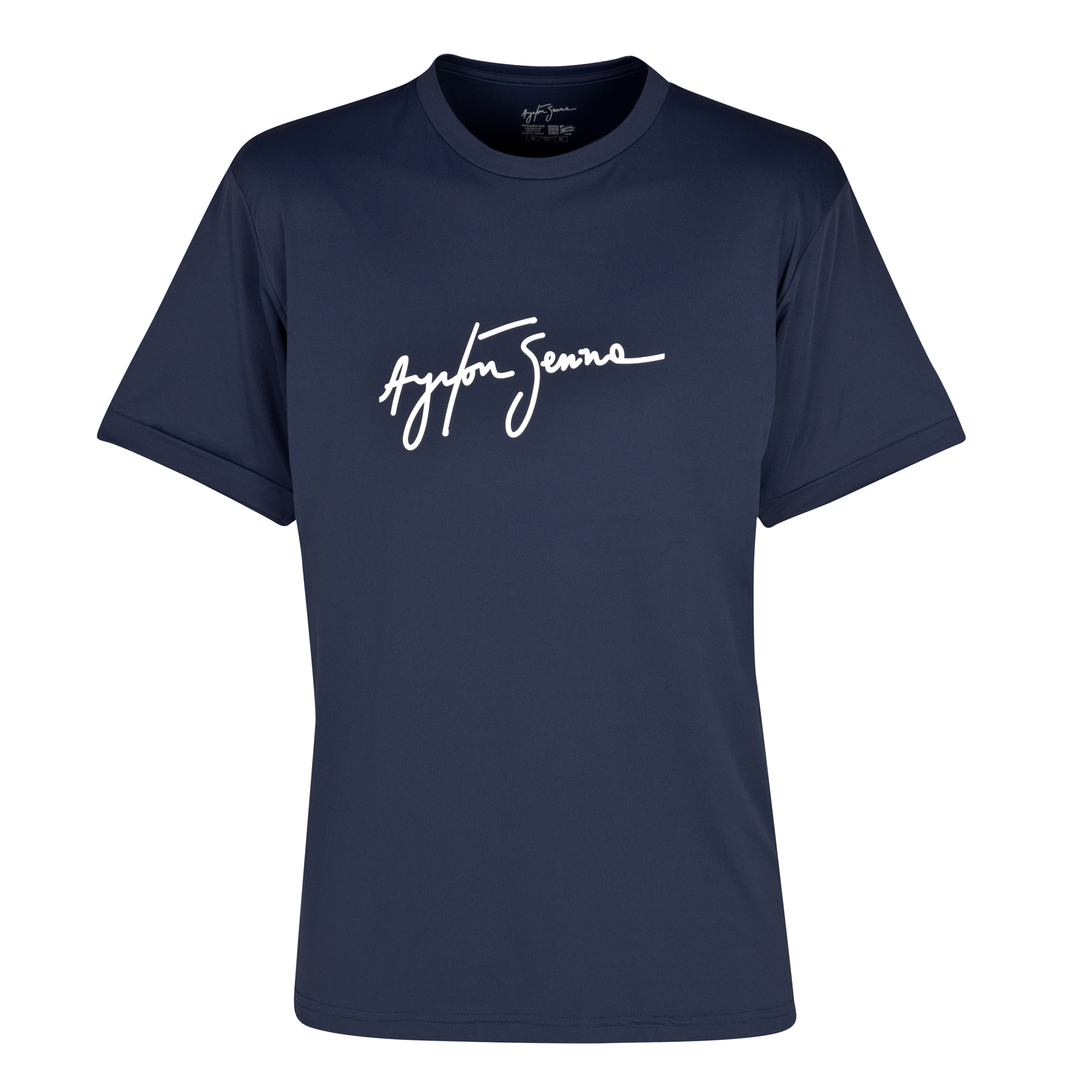 Ayrton Senna Dry Fit T-Shirt - Navy