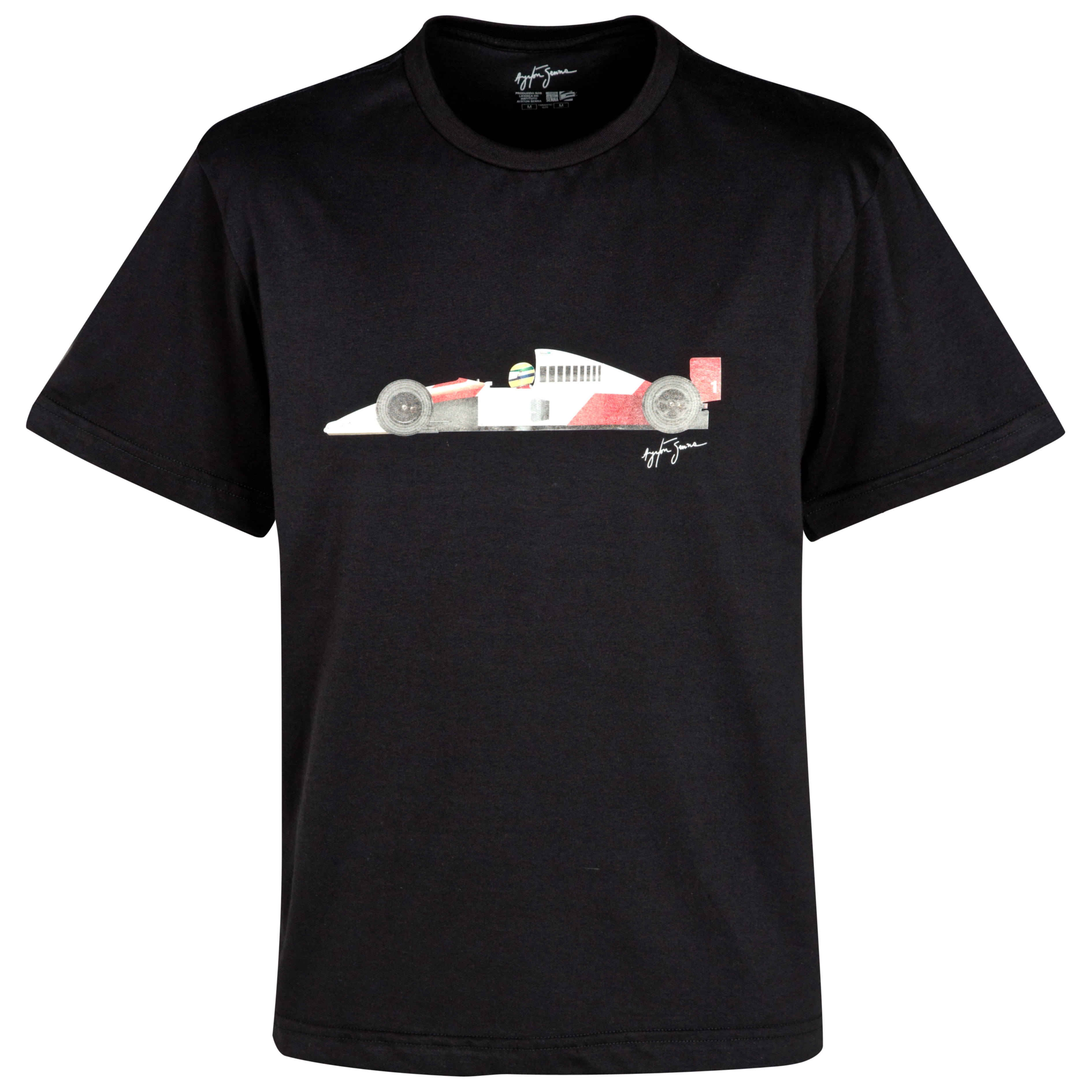 Ayrton Senna McLaren T-Shirt - Black