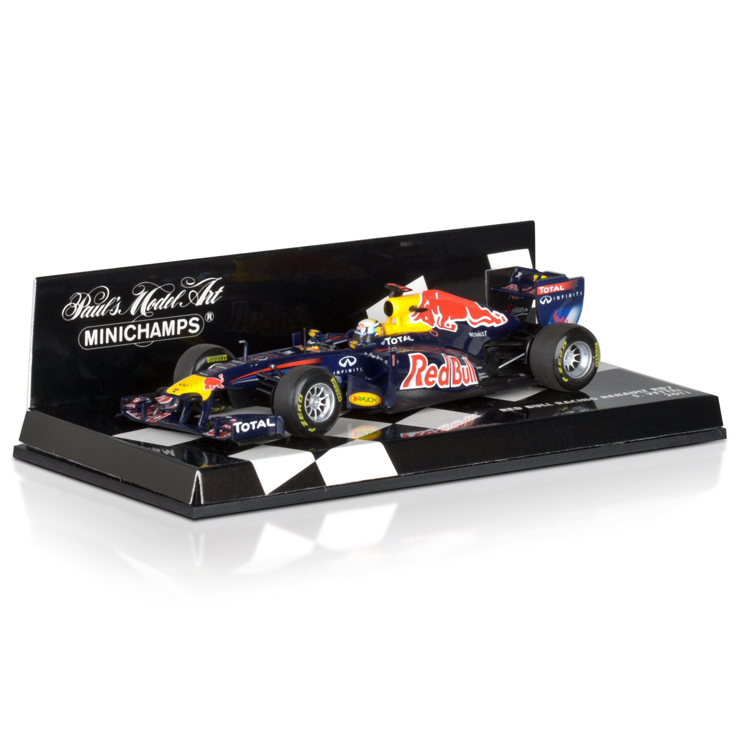 Red Bull Racing RB7 2011 Sebastian Vettel 1:43 Scale