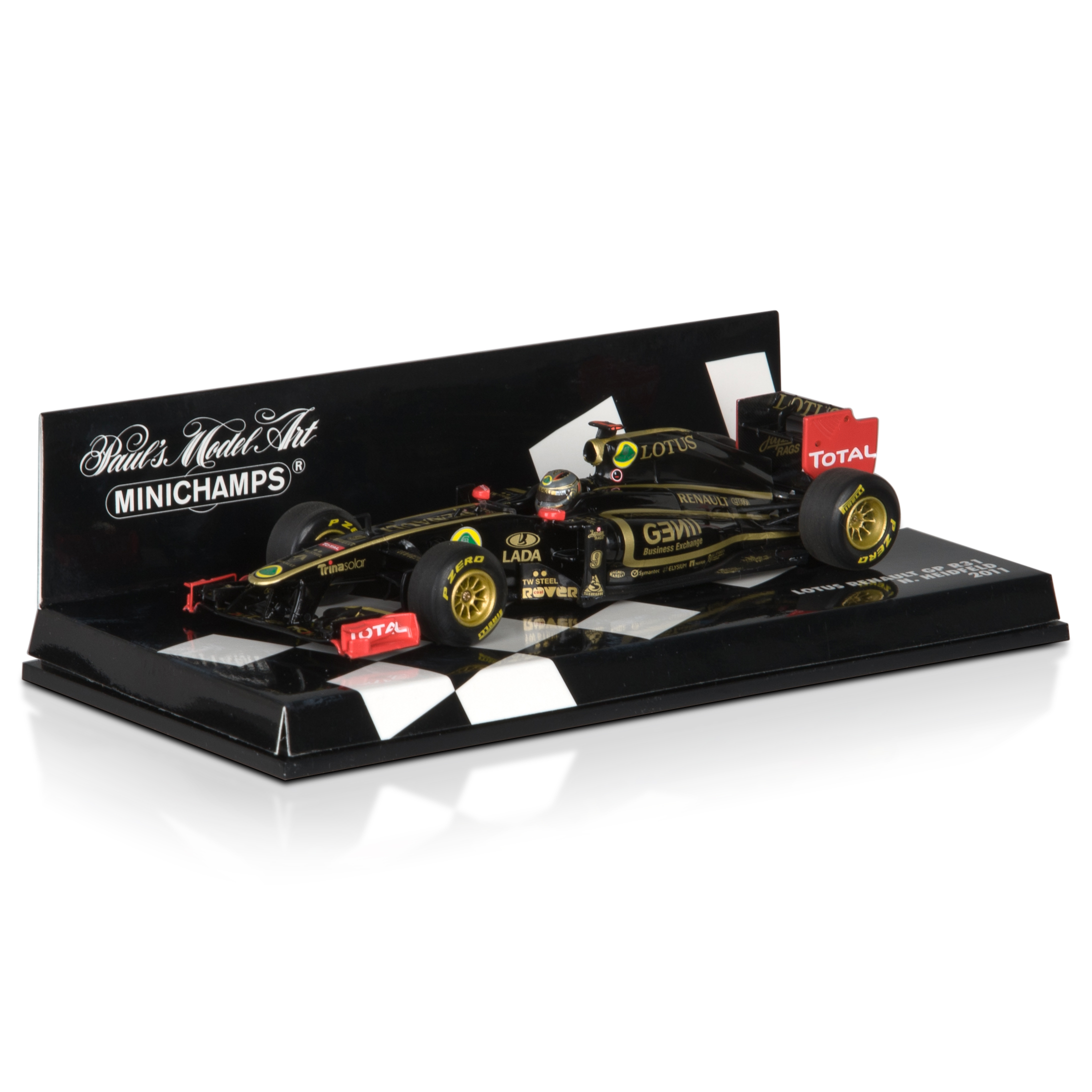 Lotus Renault GP R31 2011 Nick Heidfeld 1:43 Scale