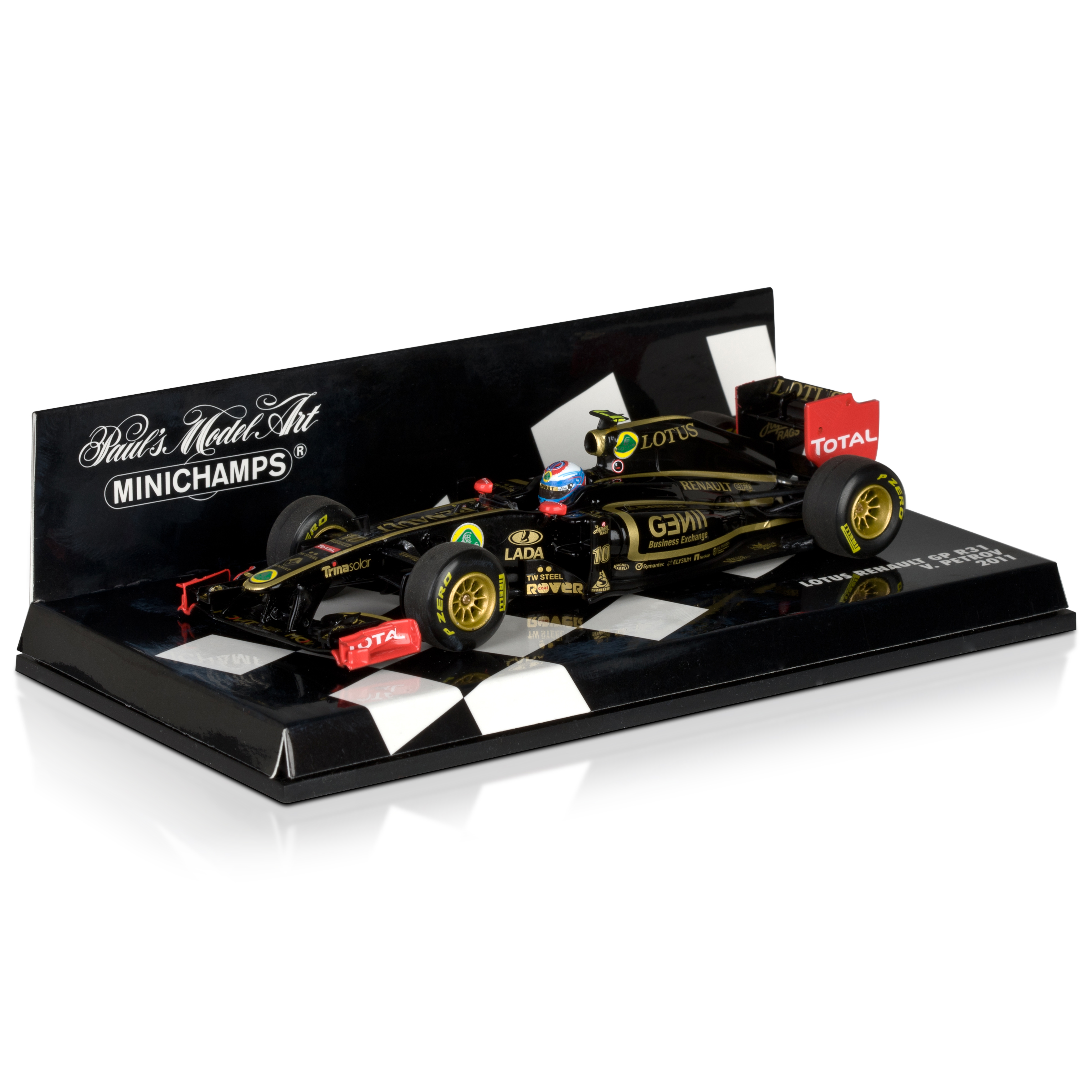 Lotus Renault GP R31 Vitaly Petrov 1:43 Scale