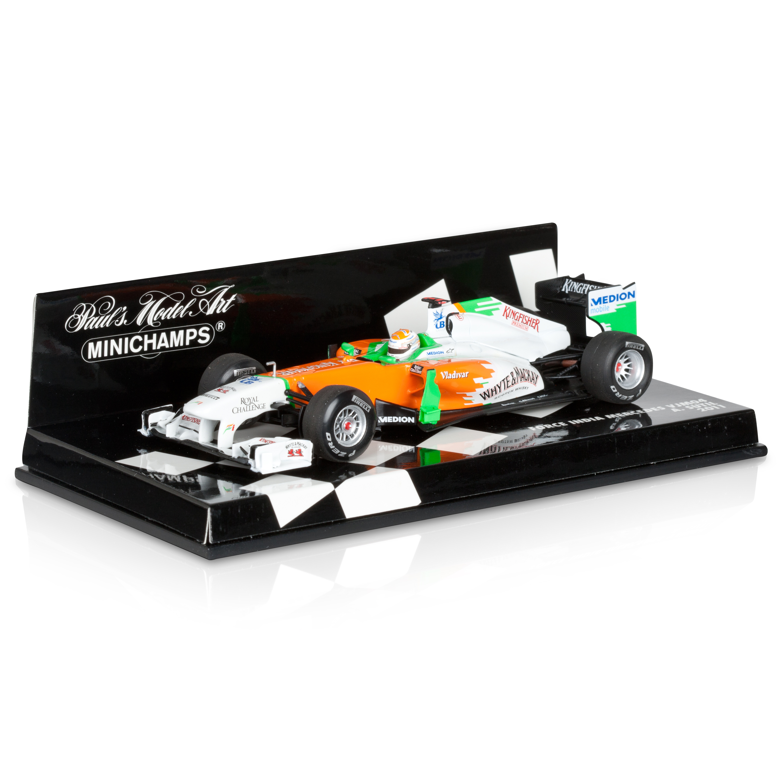 Force India VJM04 2011 Adrian Sutil 1:43 Scale