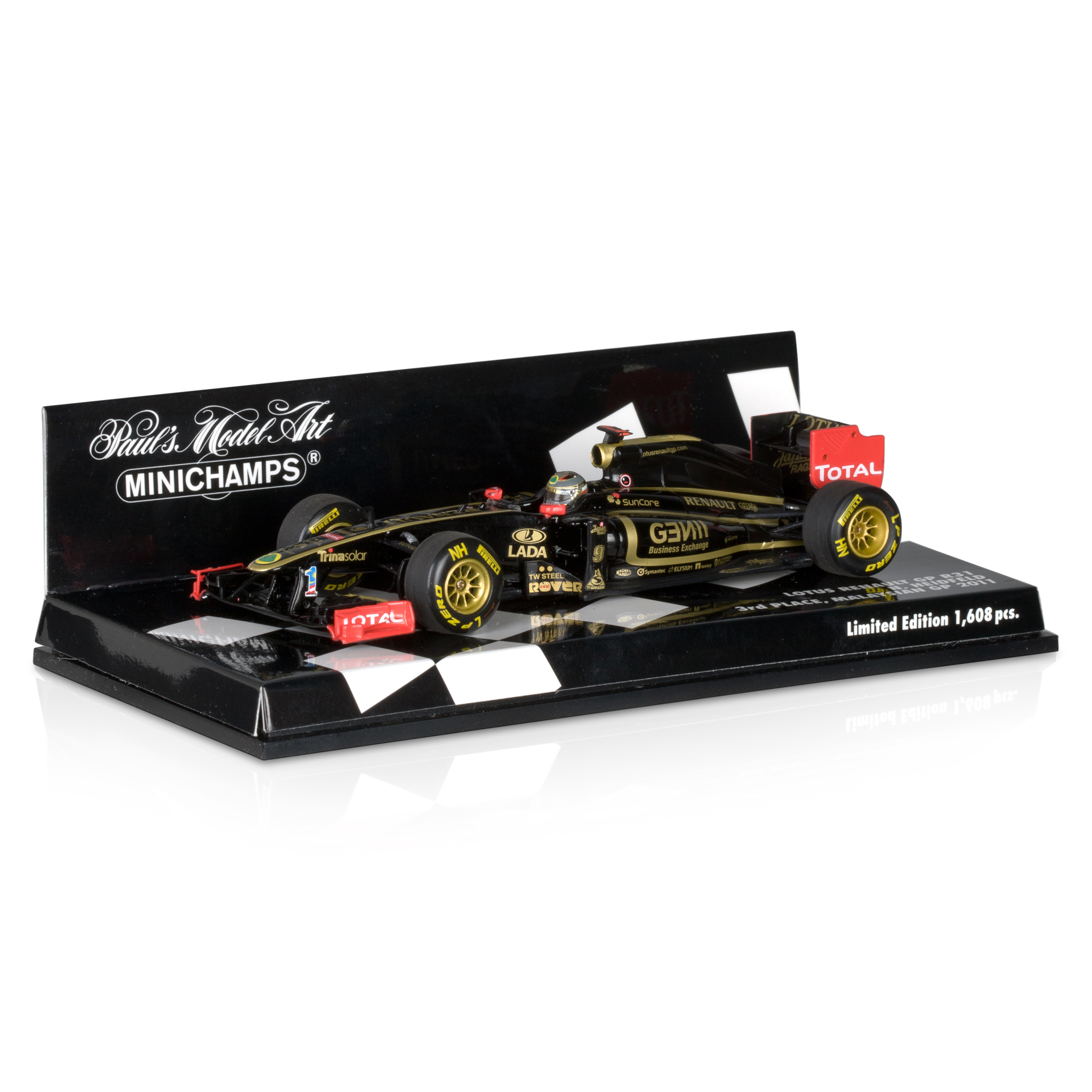 Lotus Renault GP R31 Nick Heidfeld 1:43 Scale