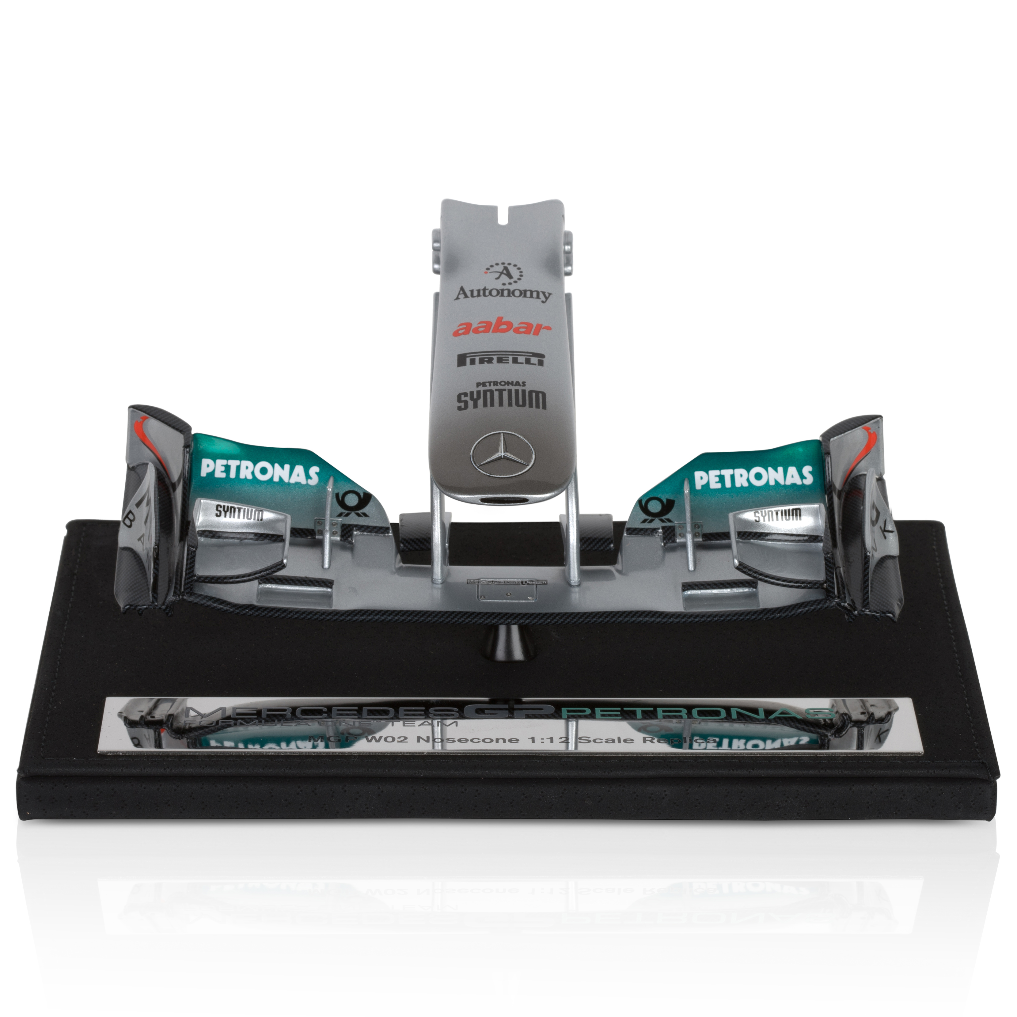 Mercedes GP Petronas Formula One Team MGP W02 1:12 Scale Nosecone