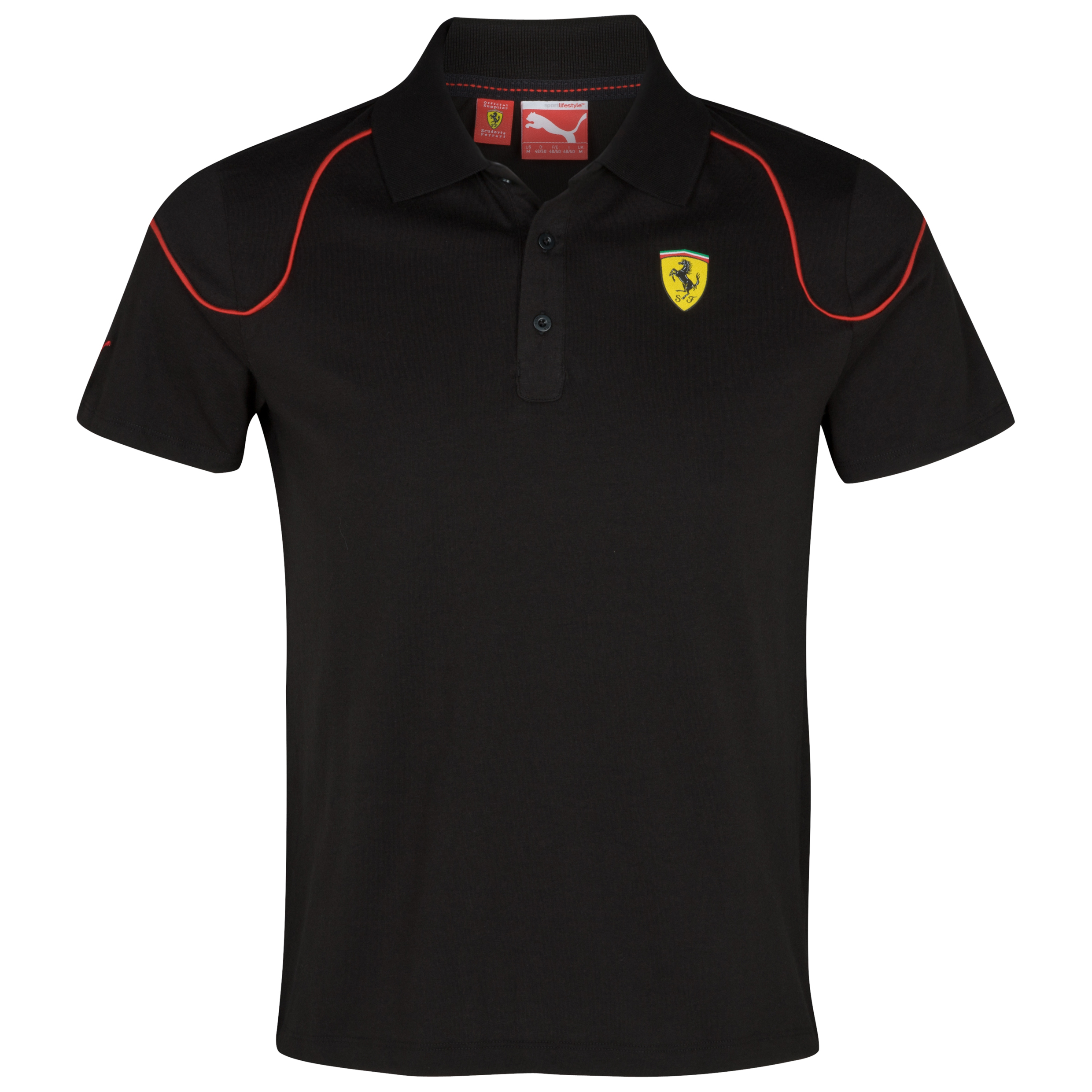 Scuderia Ferrari Polo - Black