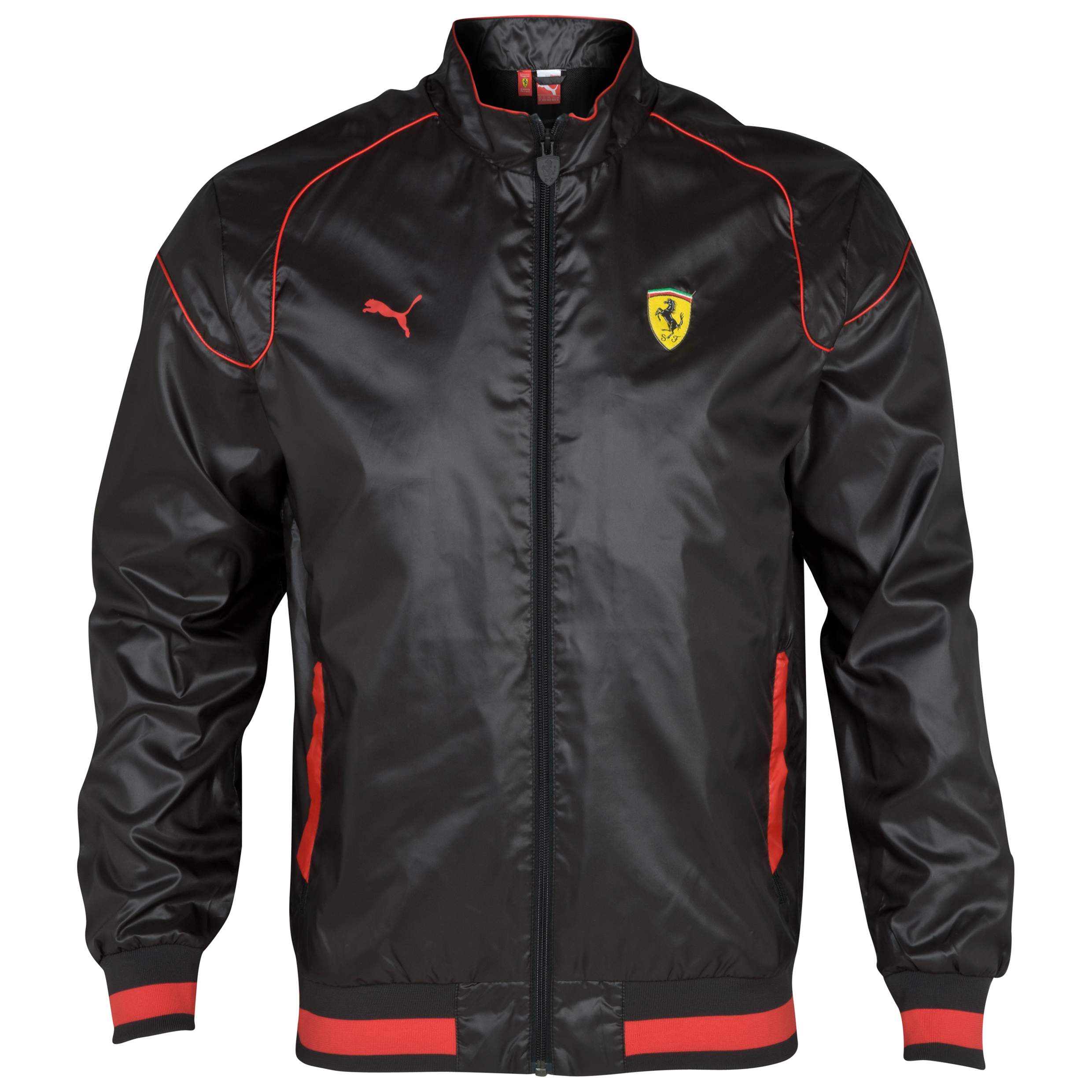 Scuderia Ferrari Lightweight Jacket - Black