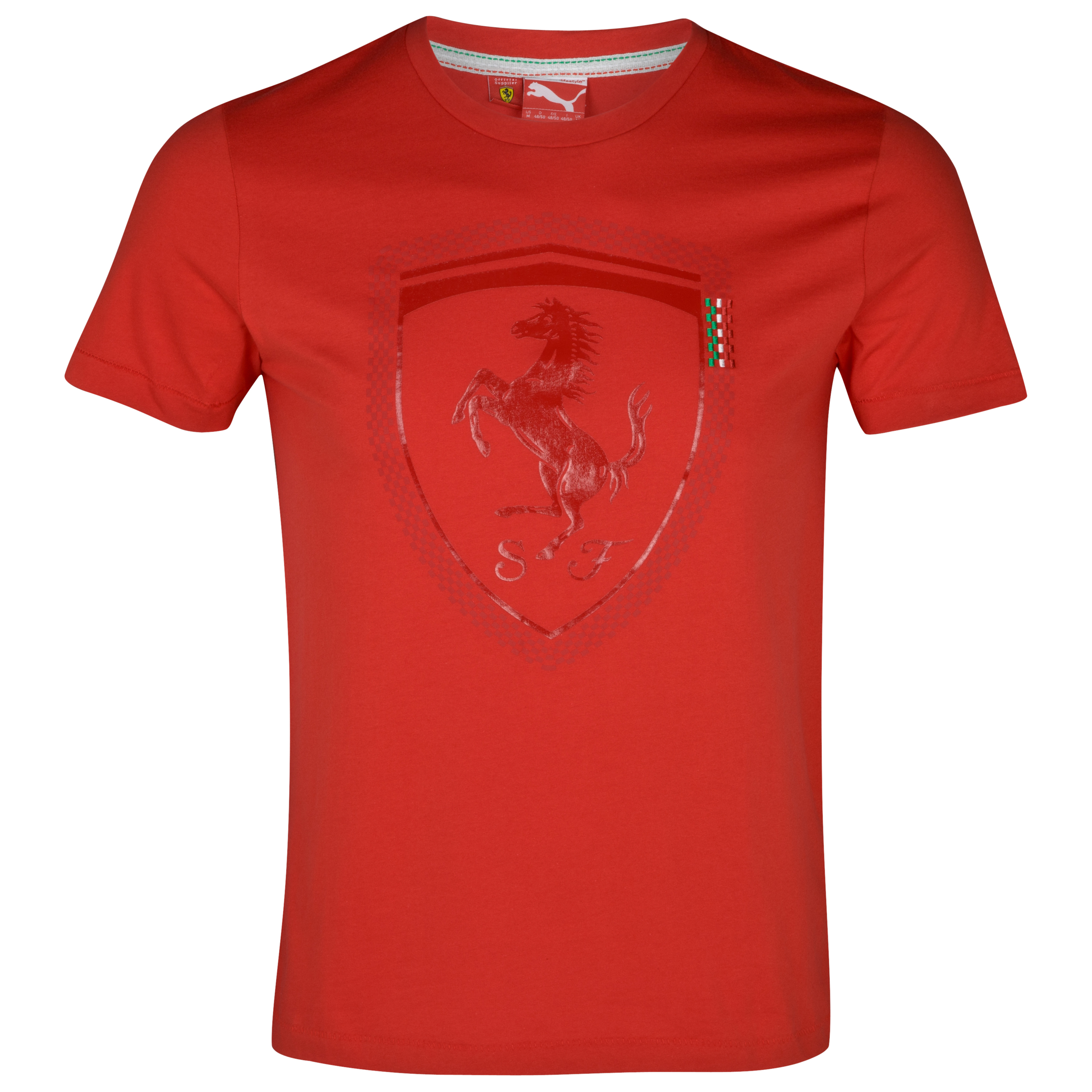 Scuderia Ferrari 2012 Logo T-Shirt - Rosso Corsa