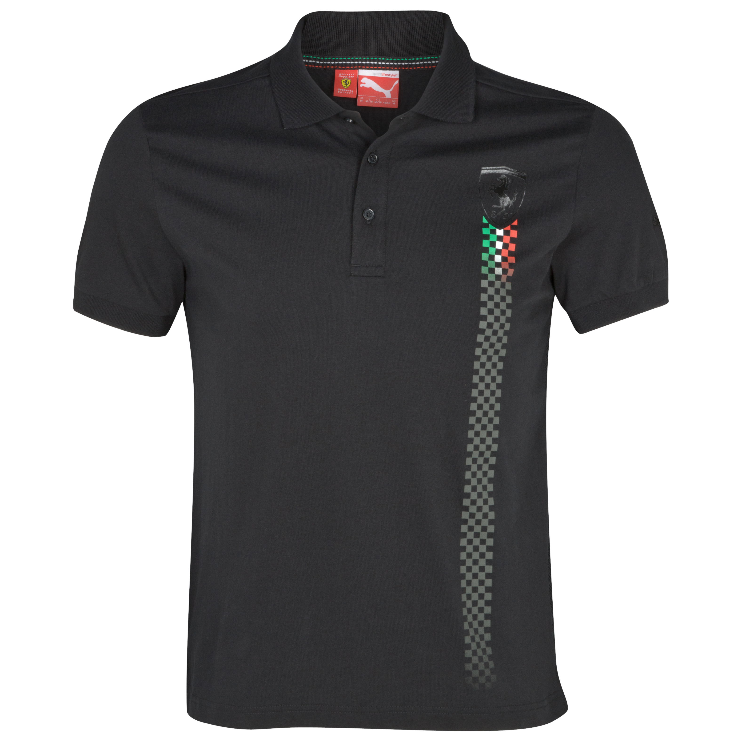 Scuderia Ferrari 2012 Polo Shirt - Black