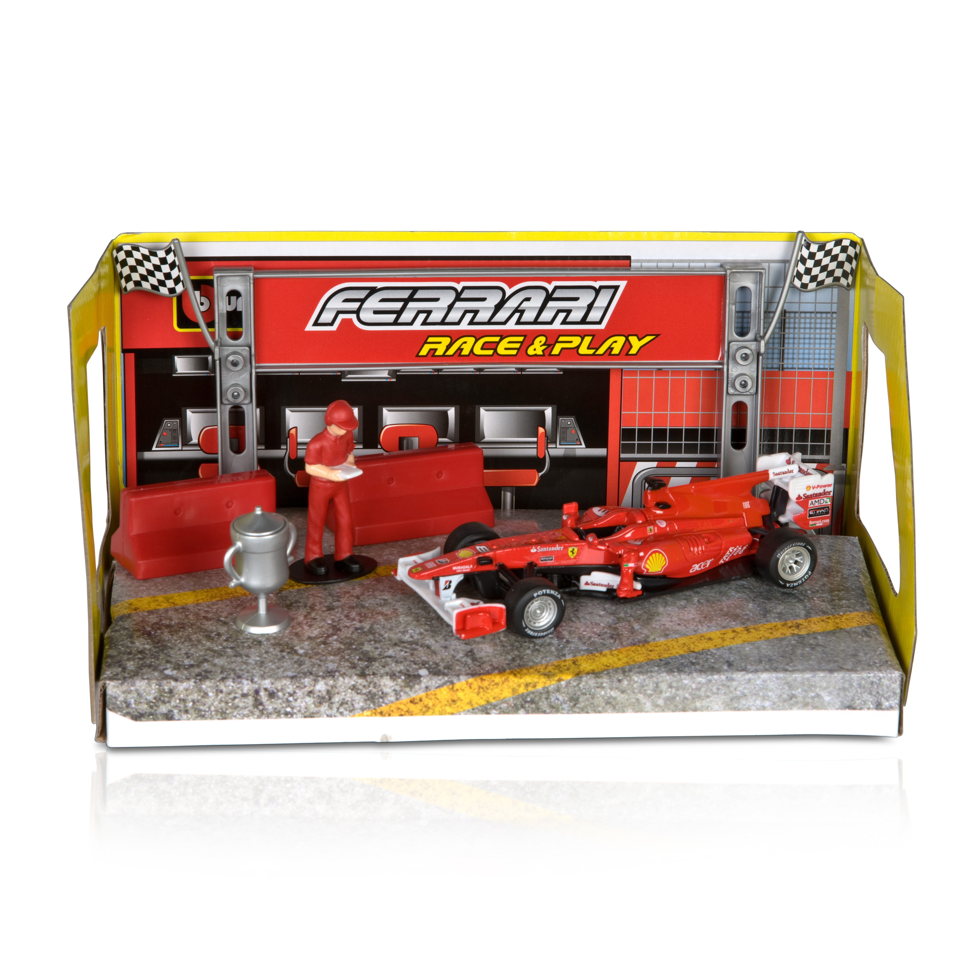 Scuderia Ferrari F10 1:32 Scale Race and Play