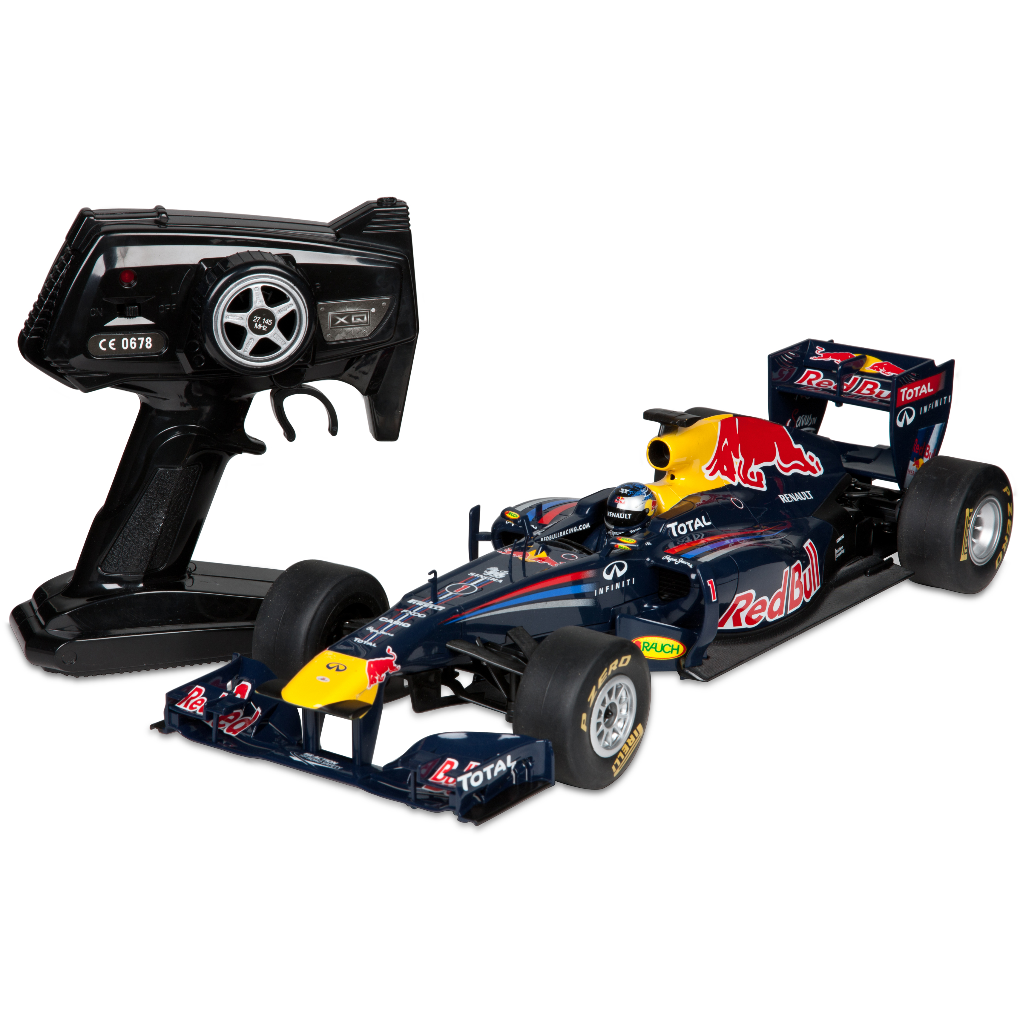 Red Bull Racing RB7 Sebastian Vettel 1:12 Scale Remote Control Car