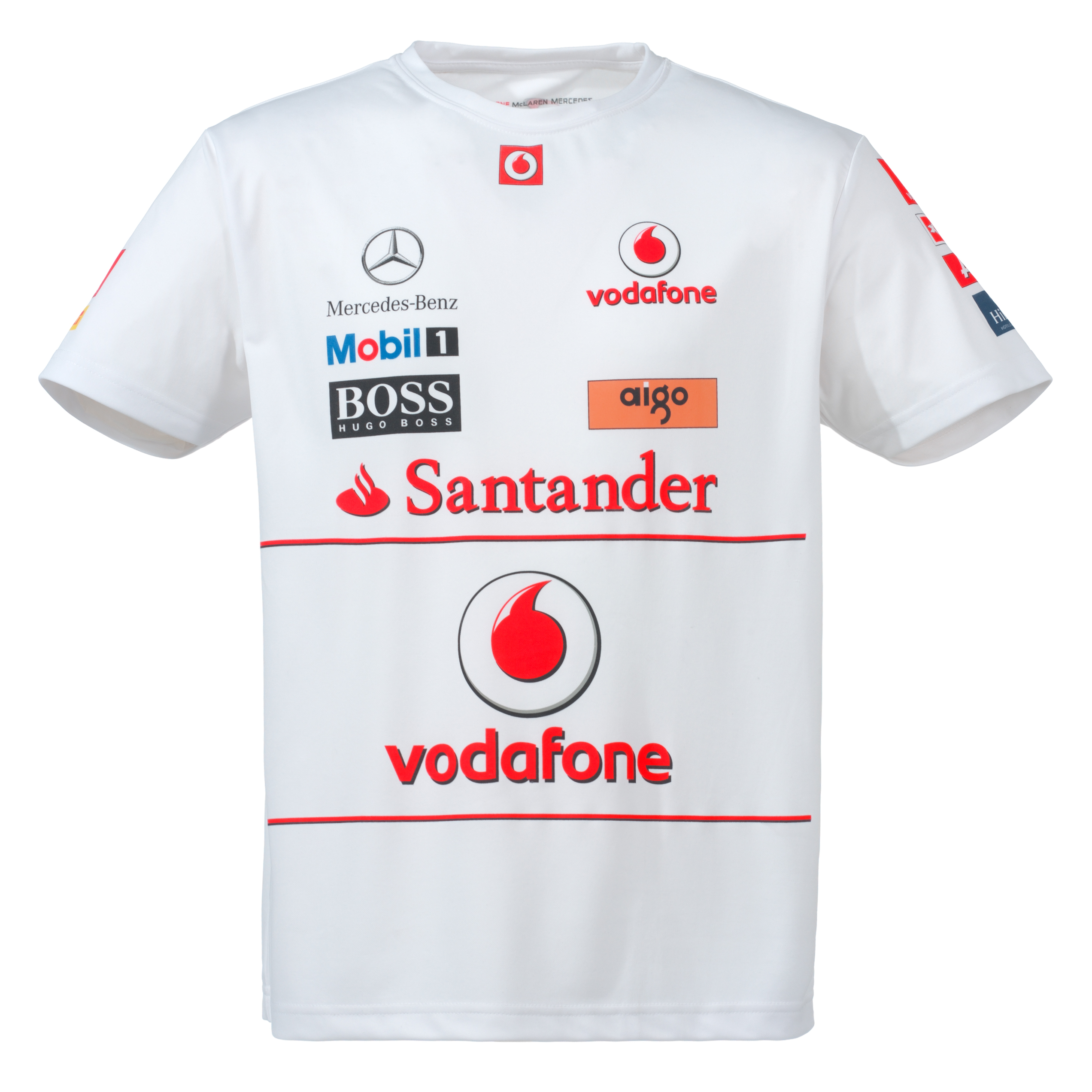 Vodafone McLaren Mercedes 2011 Team Race T-Shirt