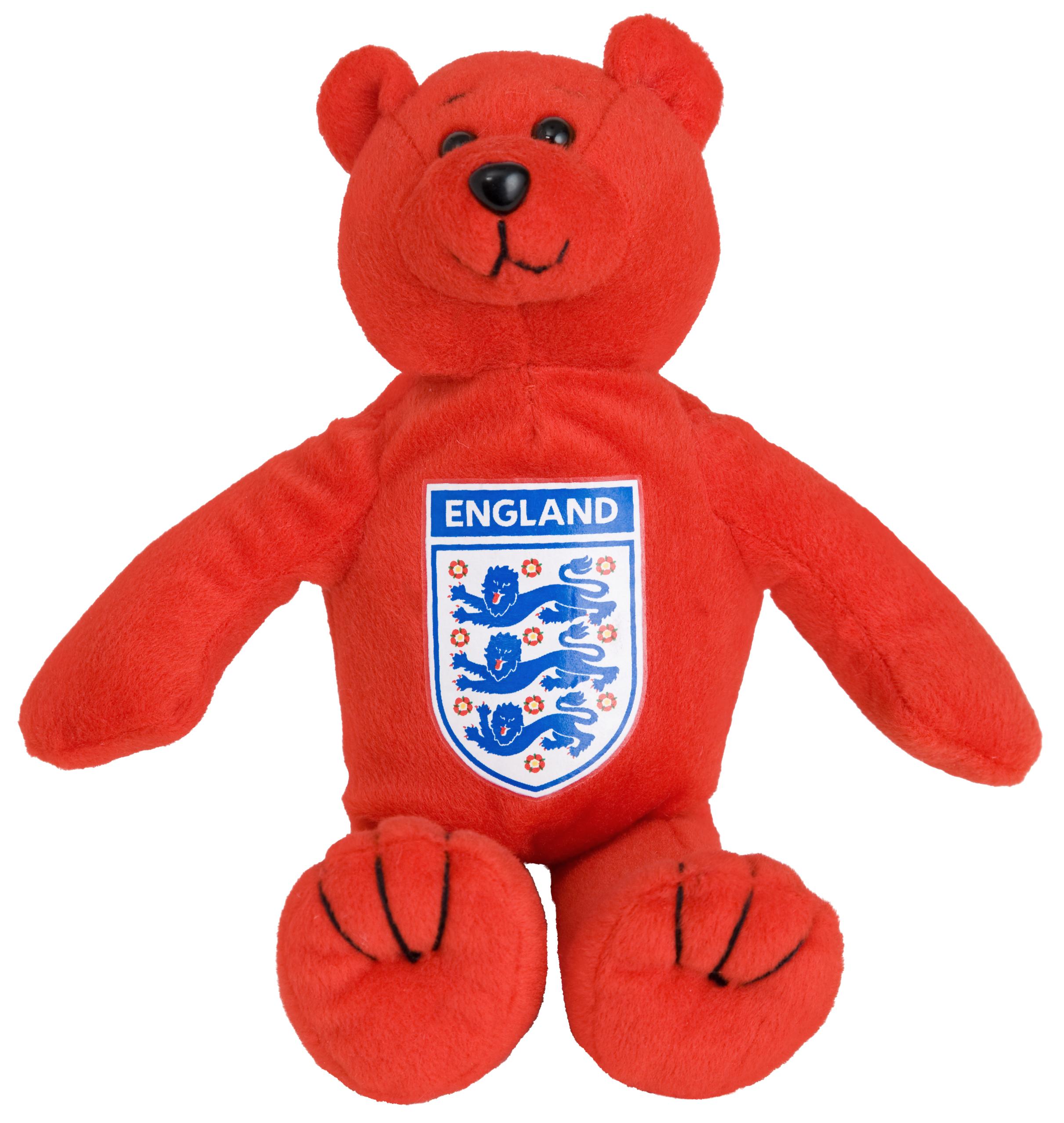 England FA Red Beanie Bear