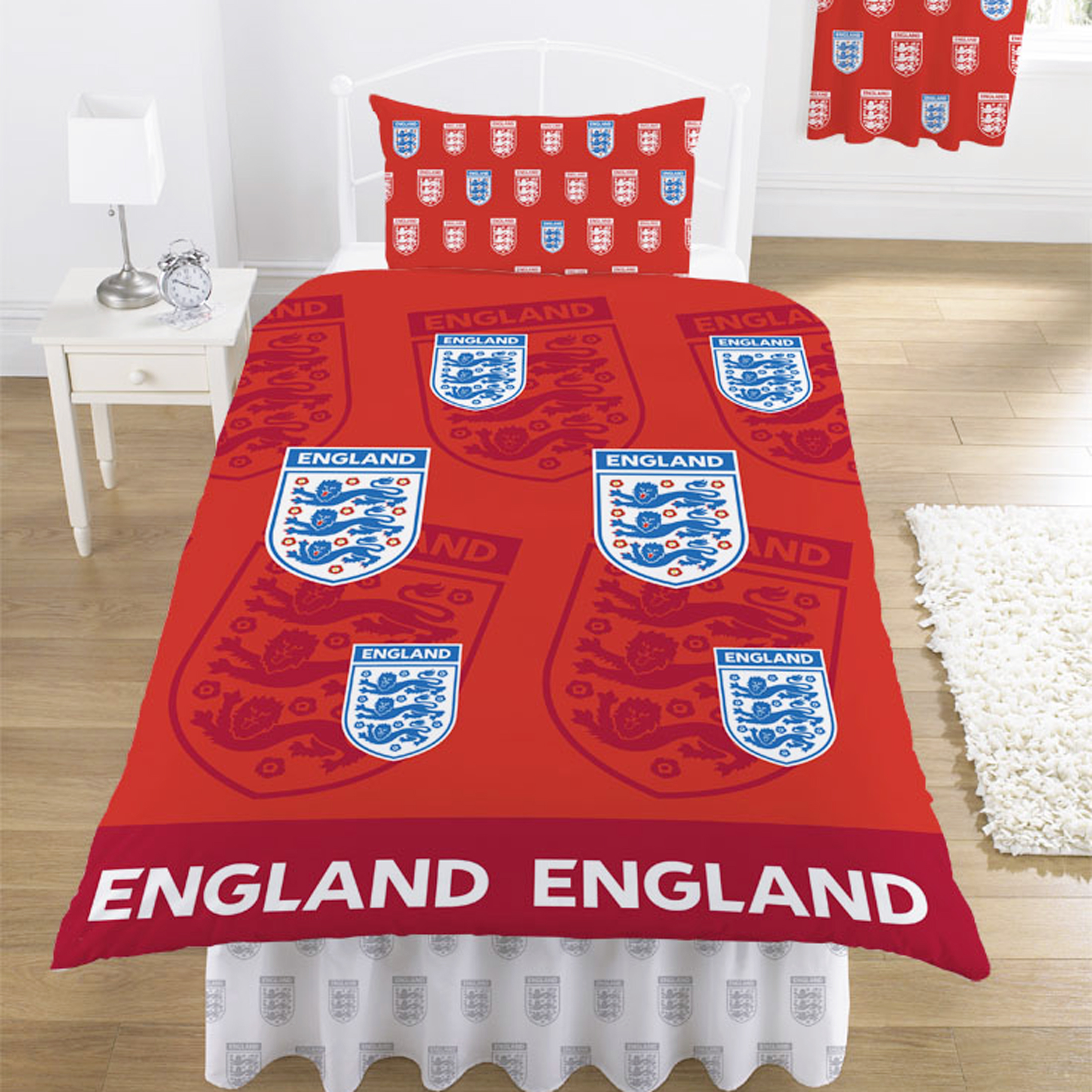 England FA Original Red Duvet