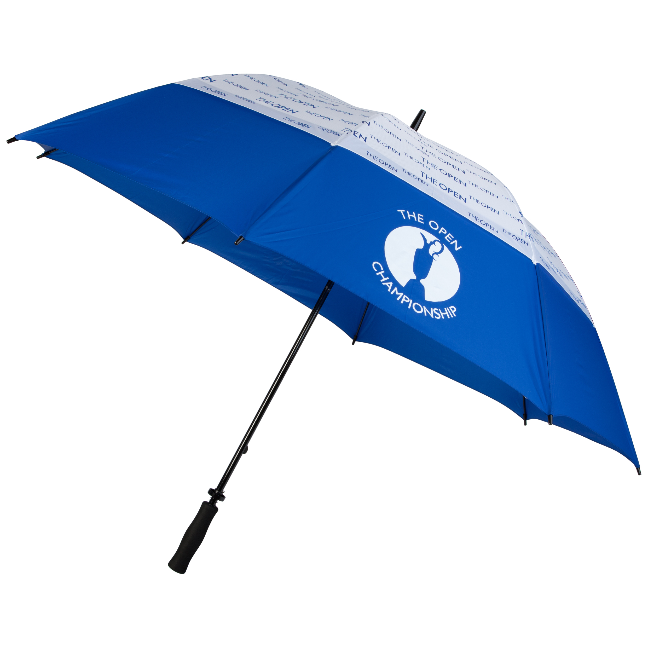 The Open Championship Double Canopy Umbrella - Blue