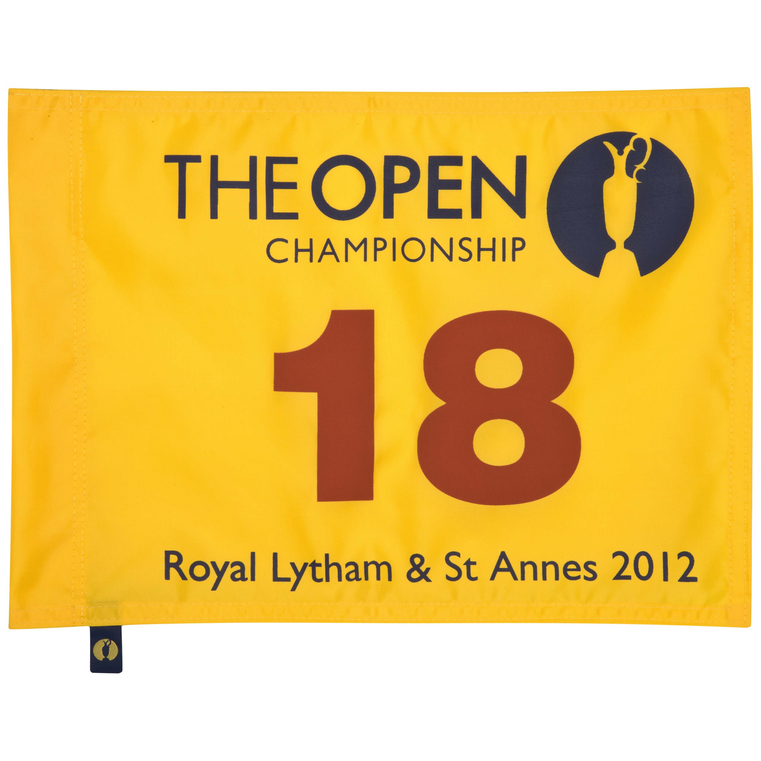 The Open 2012 Royal Lytham and St. Annes Yellow Pin Flag