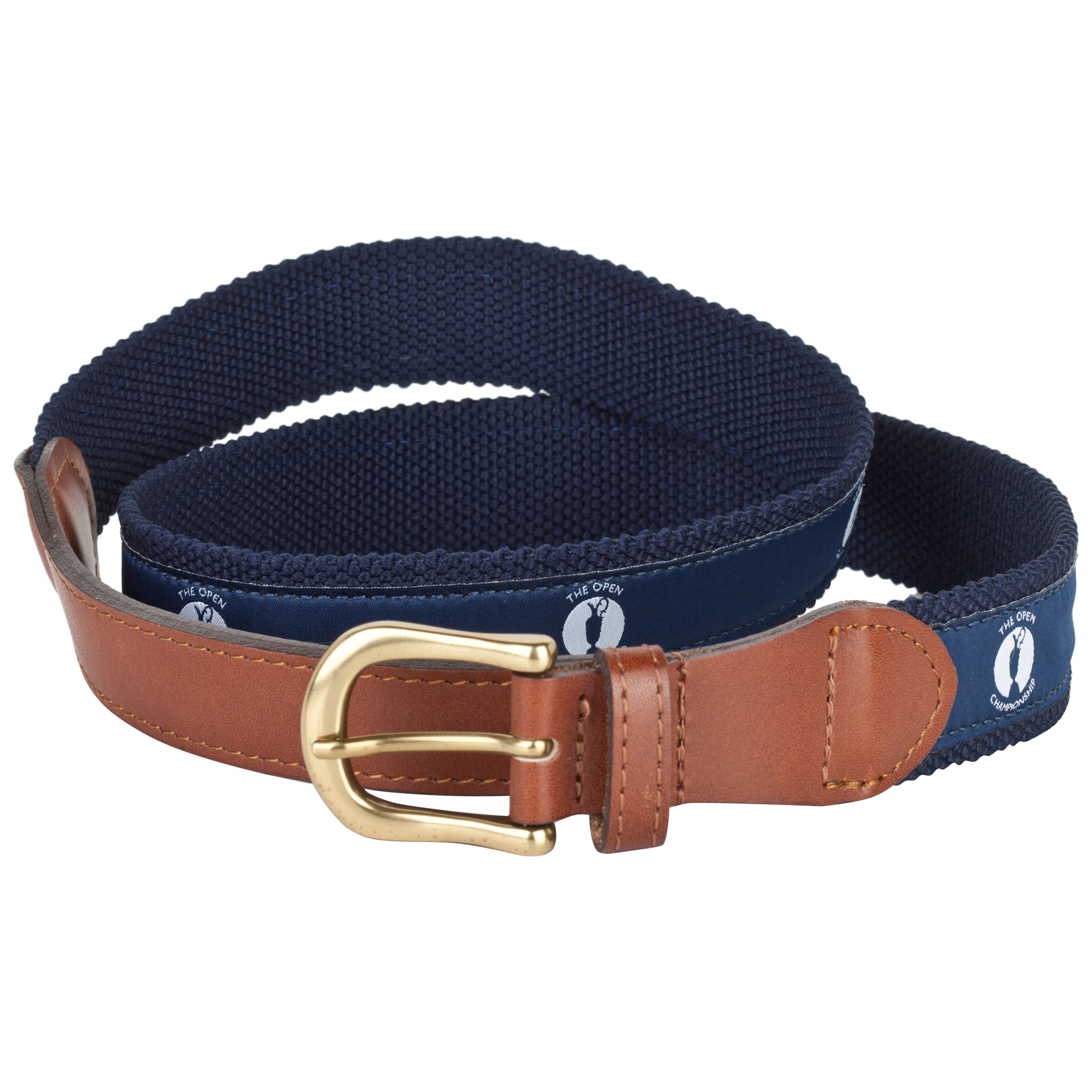 The Open Championship Webbing Belt - Blue