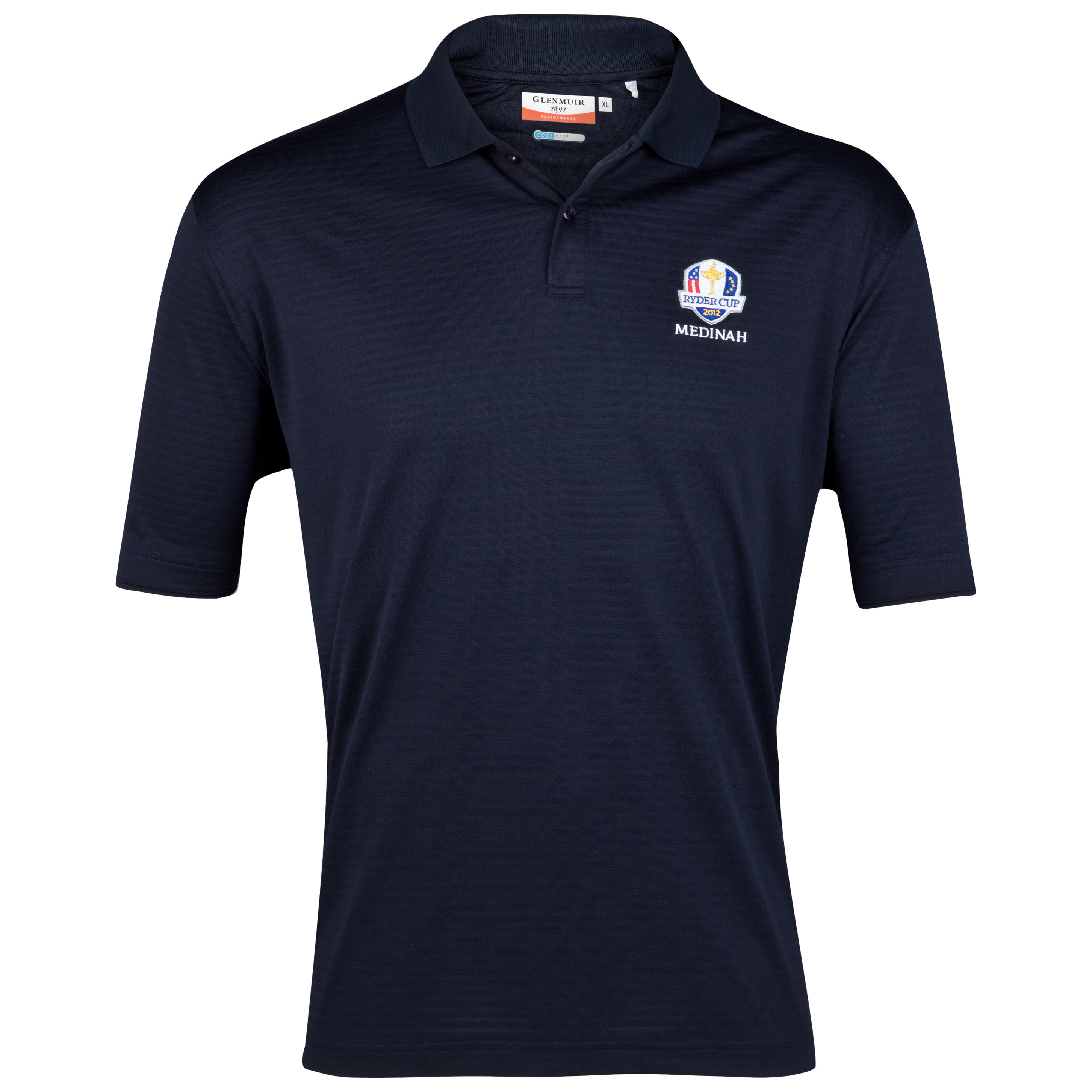 The 2012 Ryder Cup Glenmuir Performance Club Coolmax Polo - Navy