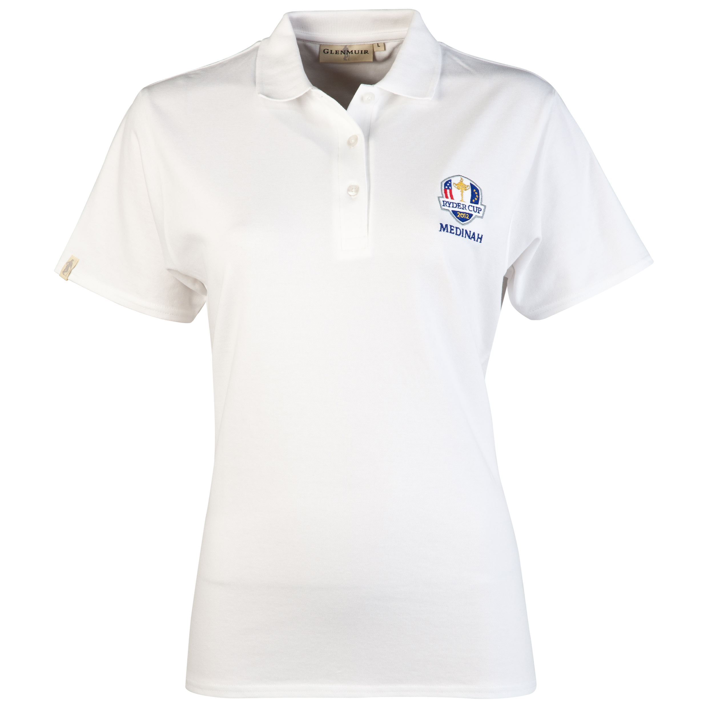 The Ryder Cup Medinah 2012 Glenmuir Sophie Women's Polo - White